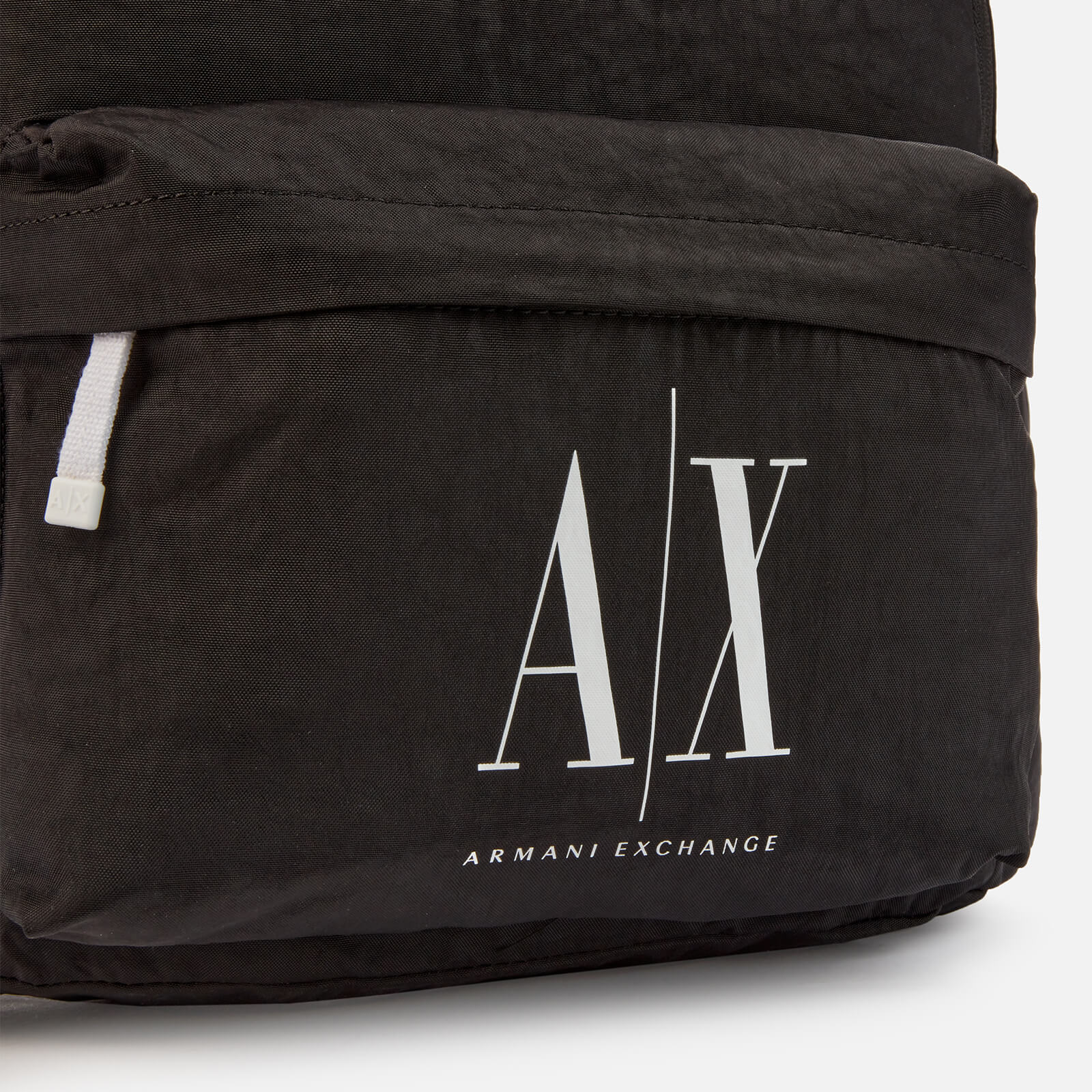 Armani Exchange Men's Ax Logo Backpack - Black