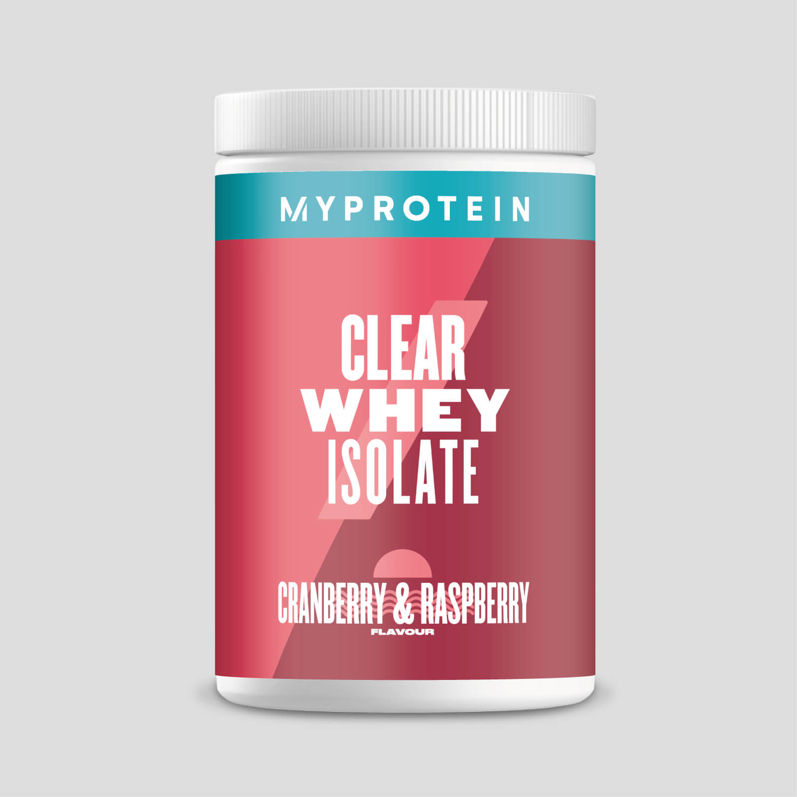 Clear Whey Isolate - 20servings - Cranberry & Raspberry