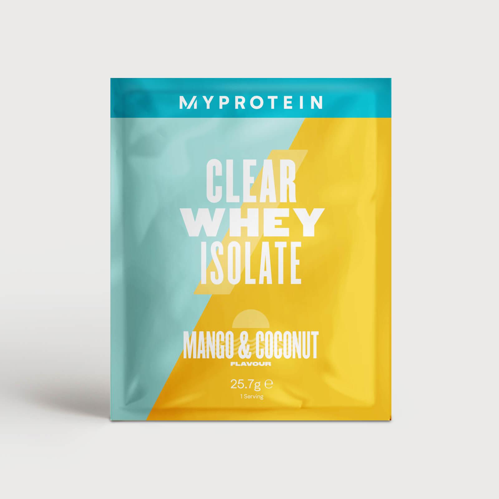 Clear Whey Isolate (Échantillon) - 25.7g - Mango & Coconut