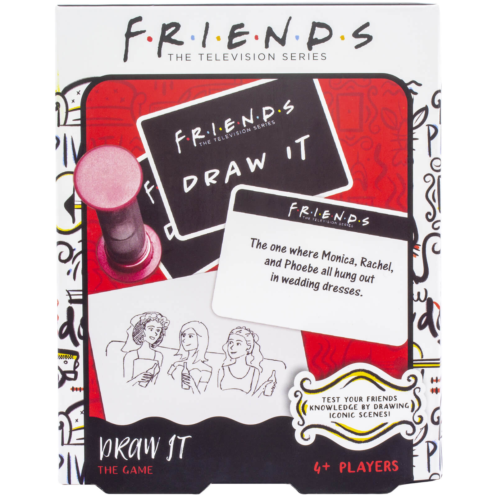 Image of Friends Draw It Game