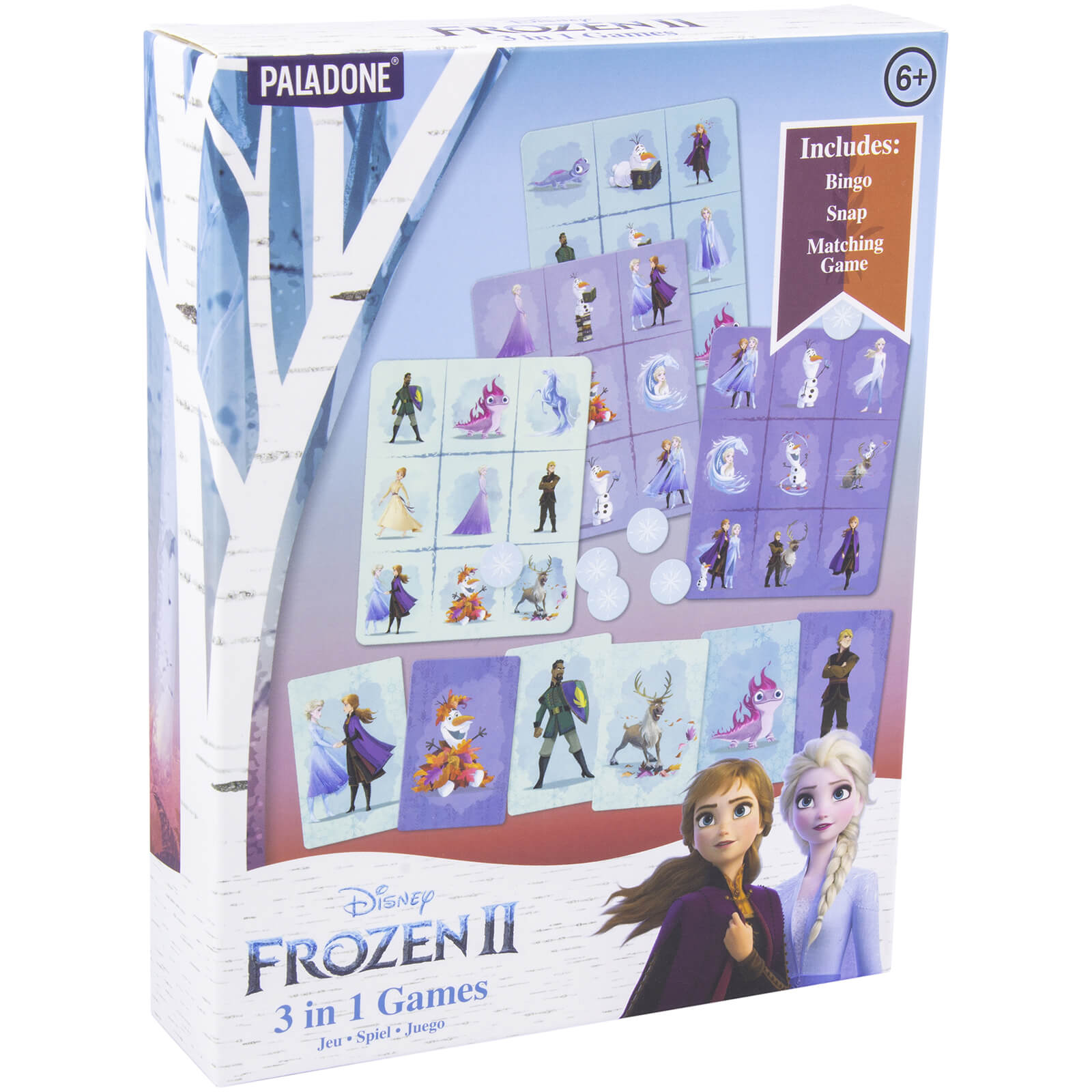 Image of Frozen 2 - 3 in 1 Games