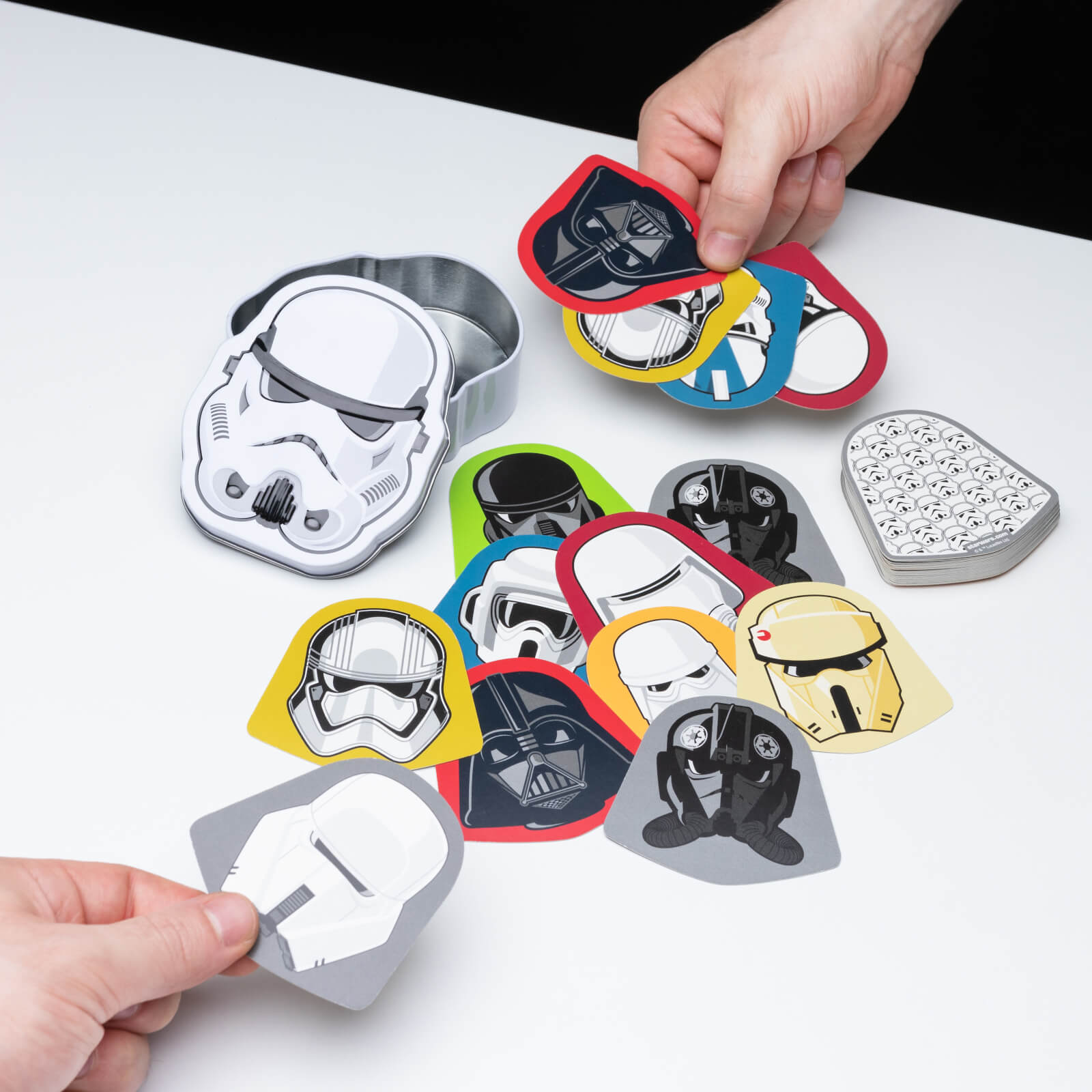 Image of Star Wars Dark Side Shuffle Card Game