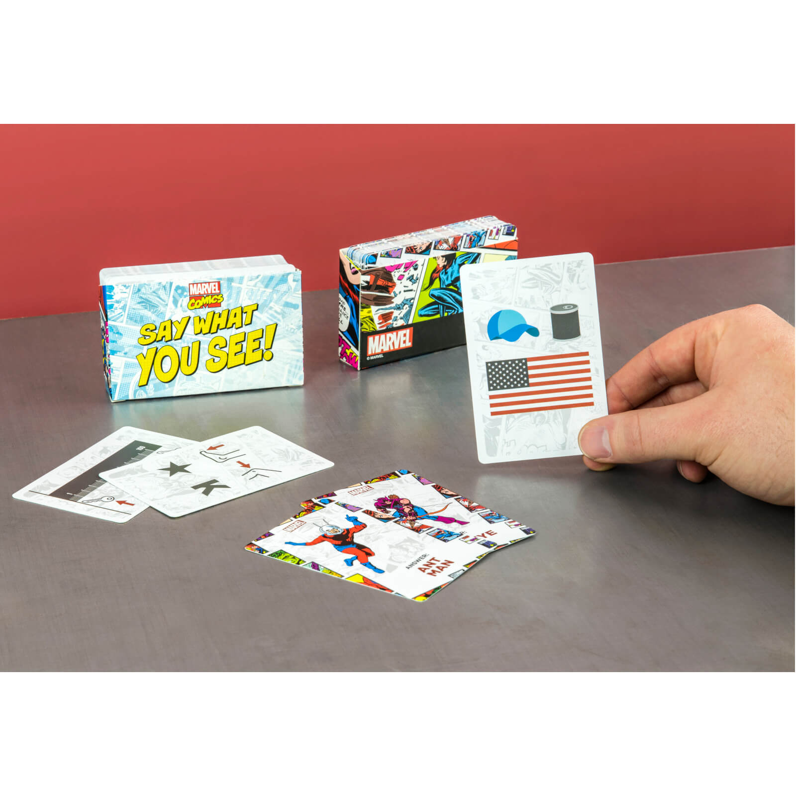 Image of Marvel Say What You See Card Game