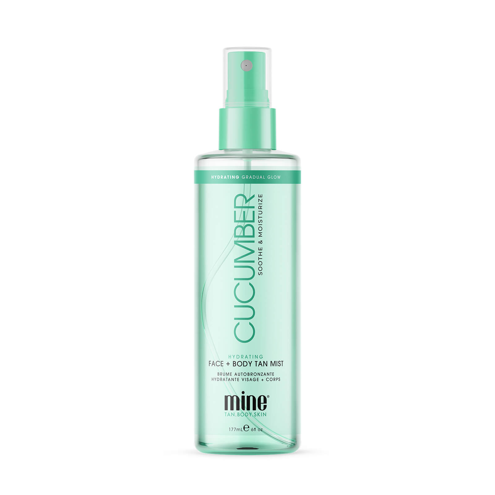 Купить MineTan Cucumber Hydrating Face & Body Mist 177ml