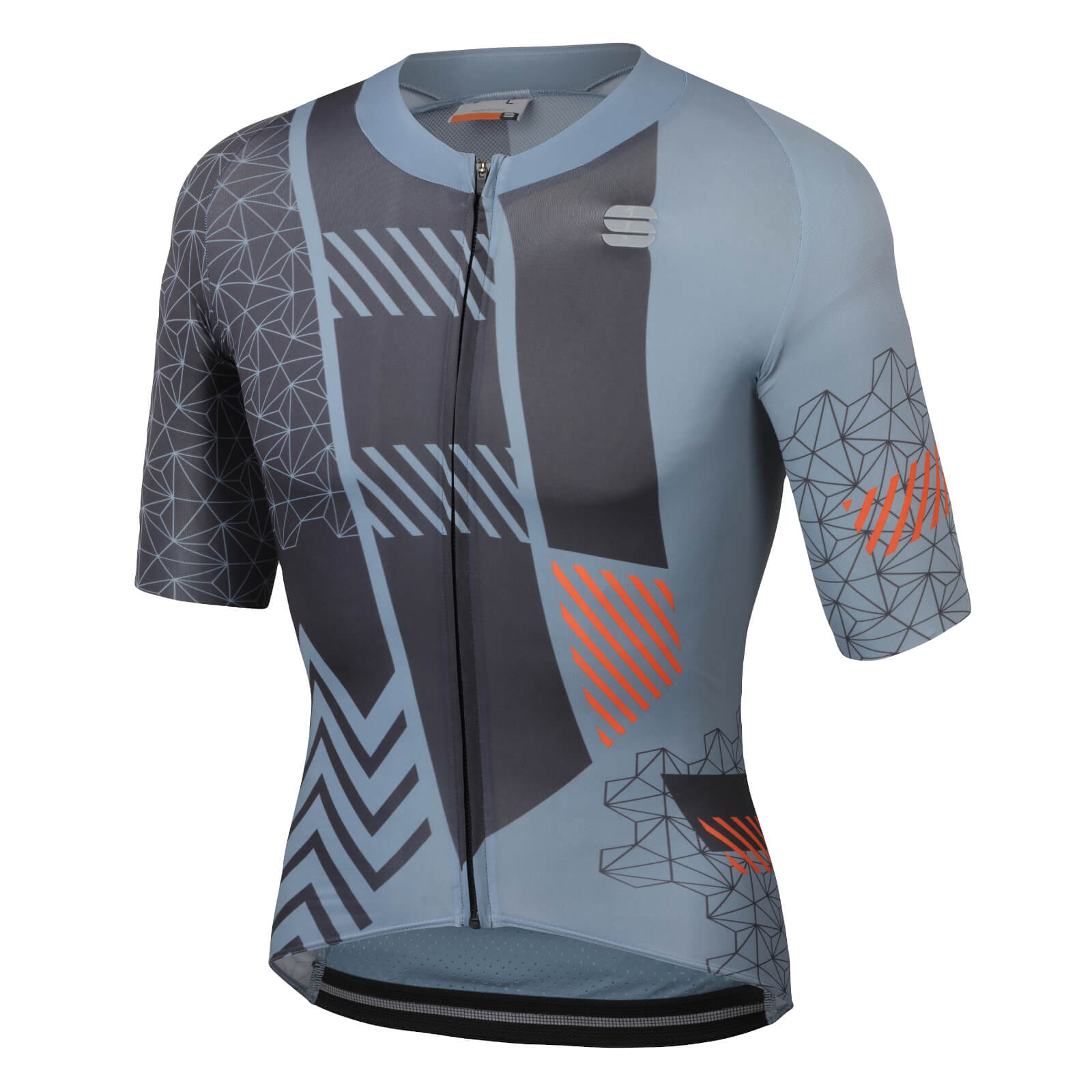 Sportful BodyFit Pro Bomber Jersey - M - Cement/Anthracite