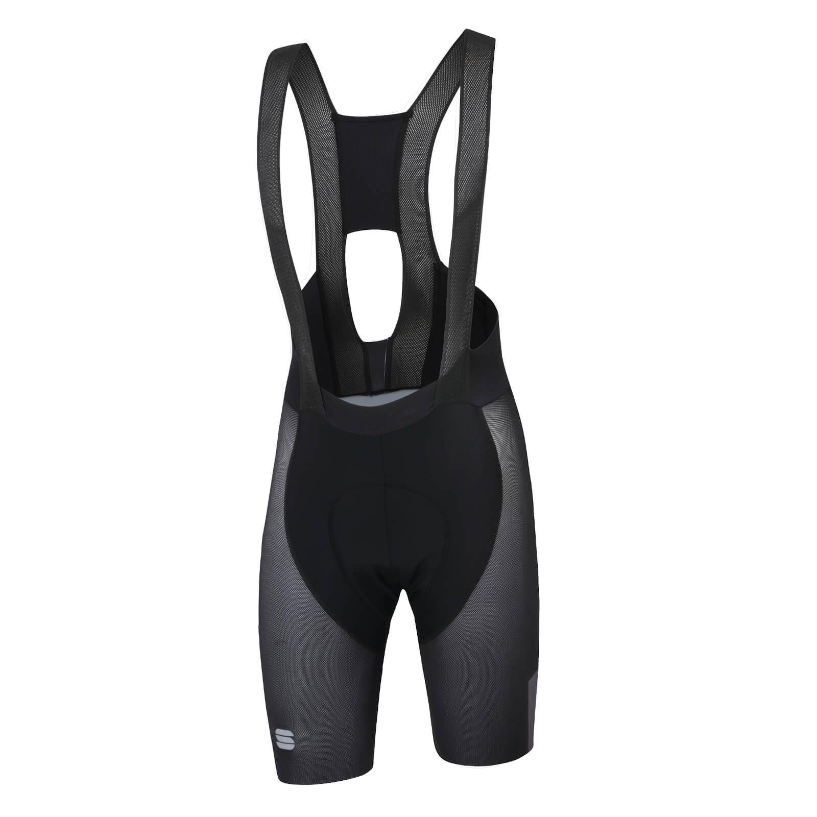 Sportful BodyFit Pro Air Bib Shorts - L - Black/Anthracite
