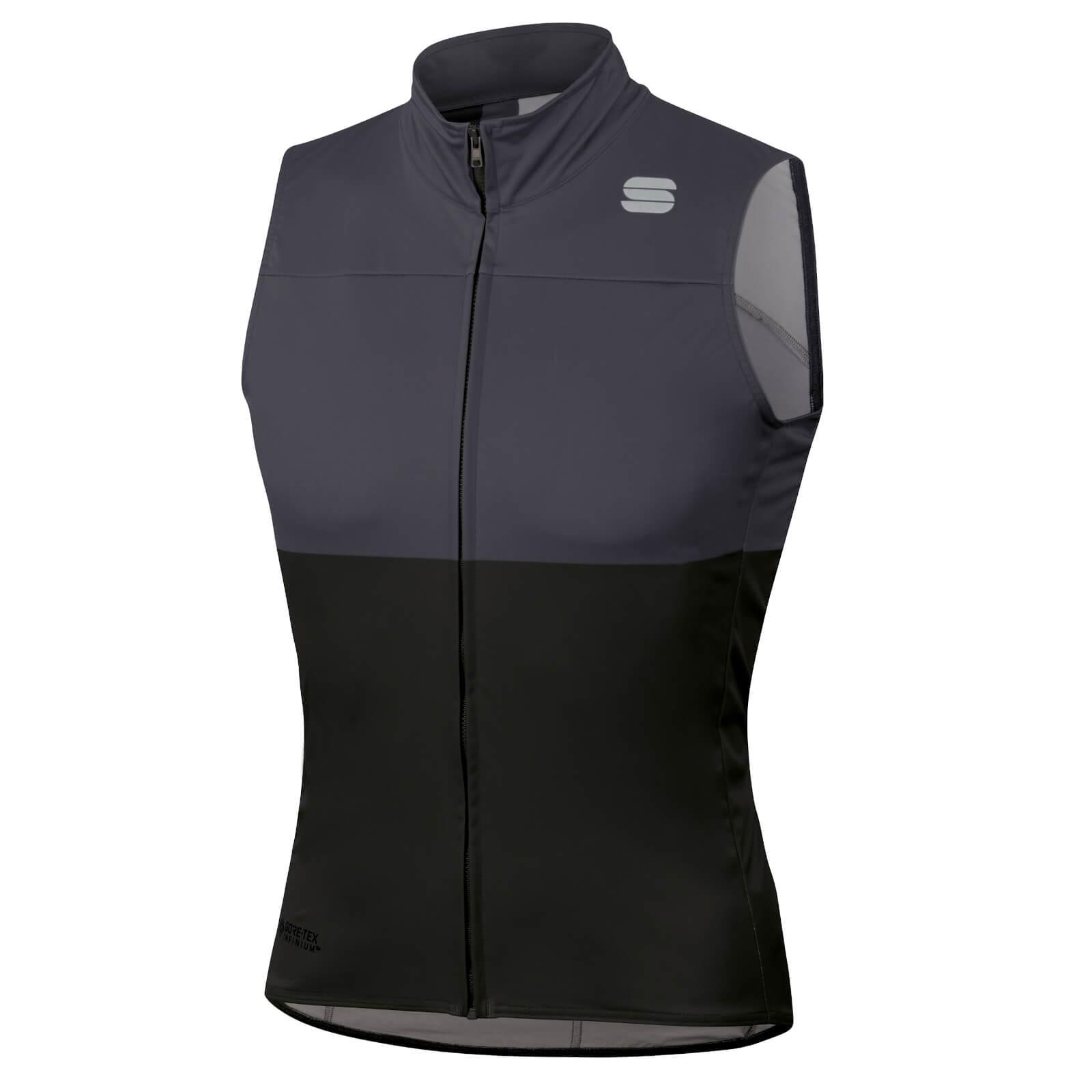 Sportful BodyFit Pro Vest - S - Black/Anthracite