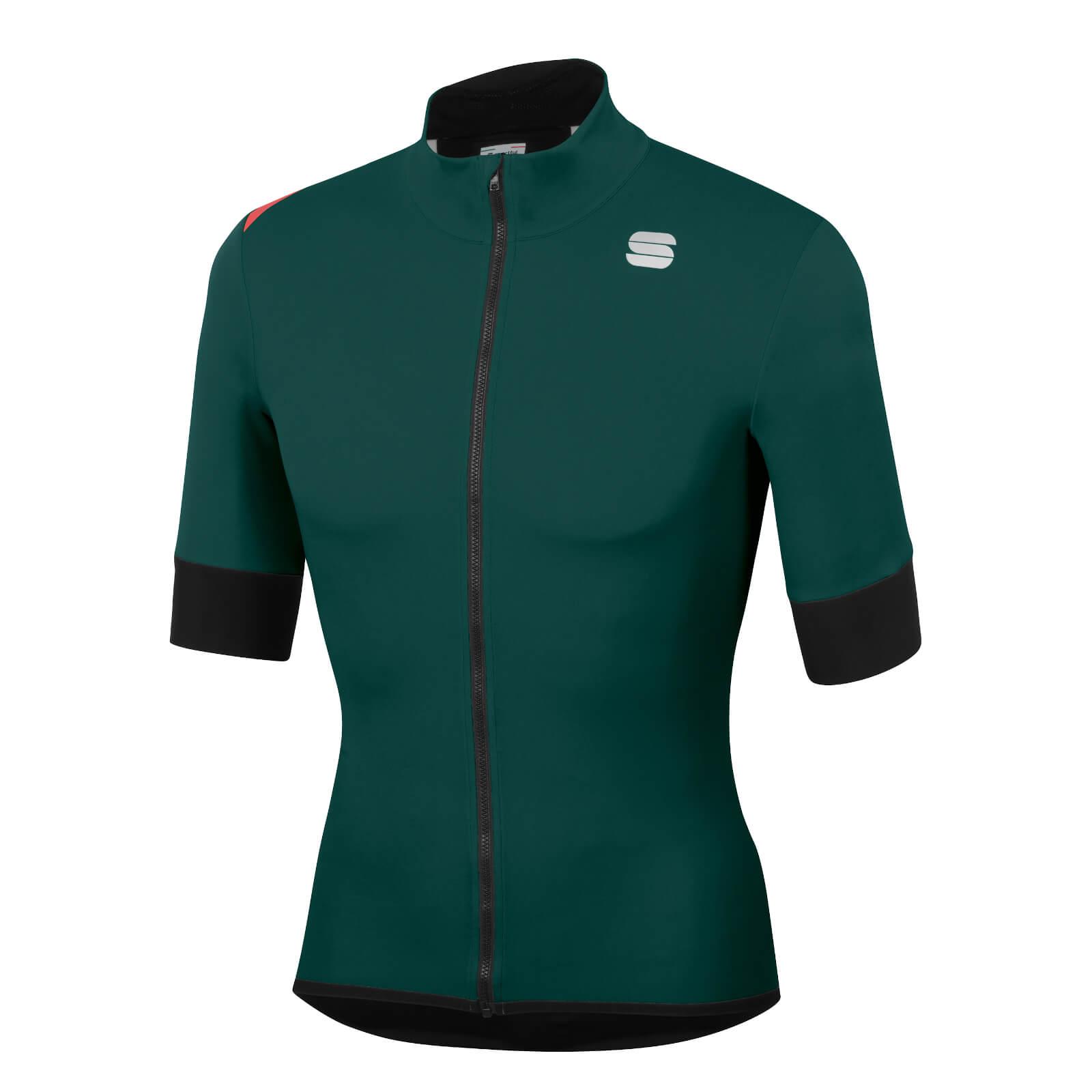 Sportful Fiandre Light NoRain Short Sleeve Jacket - S - Sea Moss