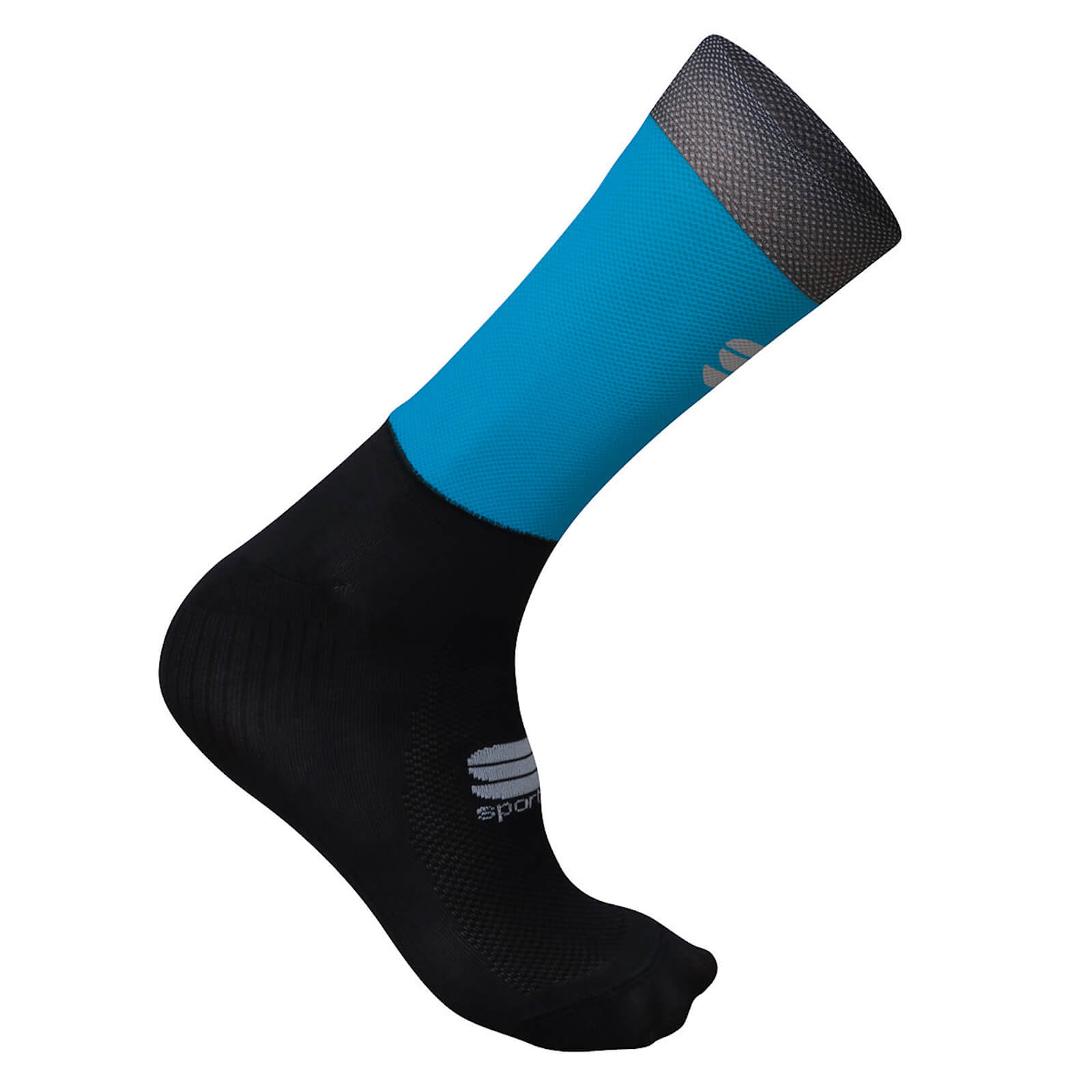 Sportful Supergiara Socks - S - Blue Atomic/Black
