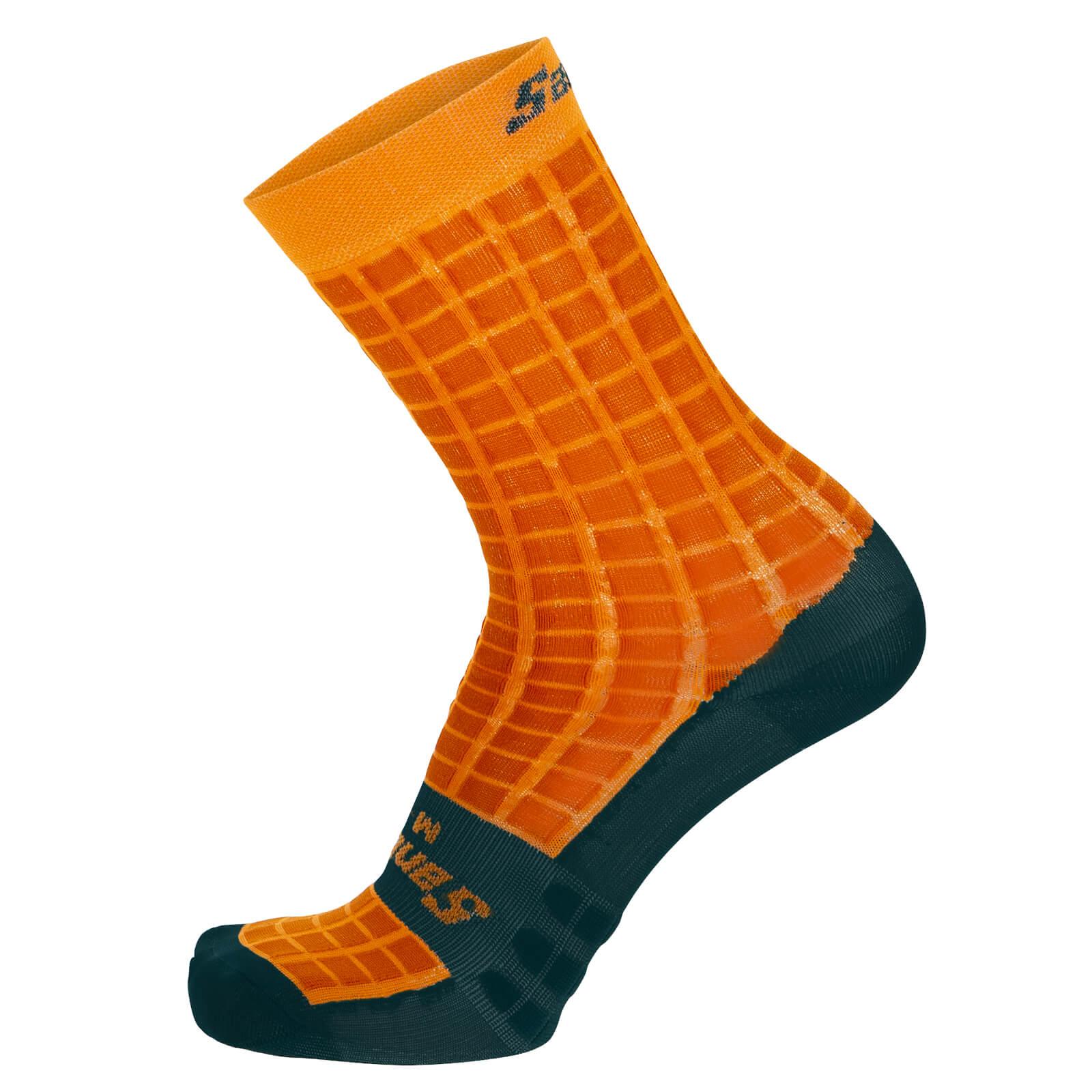 Santini Grido High Profile Socks - XS/S - Tuscan Yellow