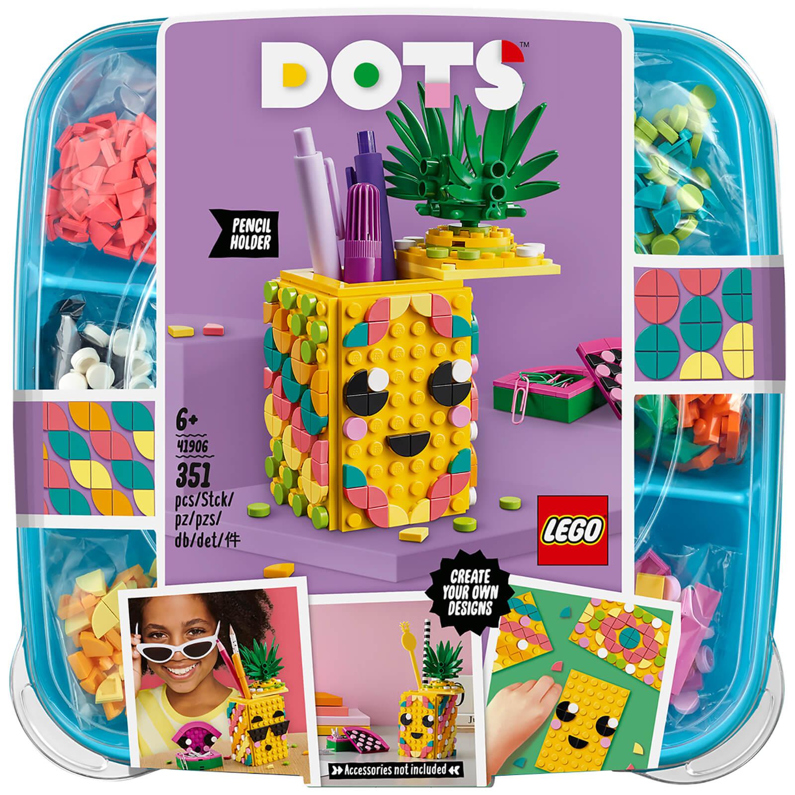 LEGO DOTS: Pineapple Pencil Holder (41906)