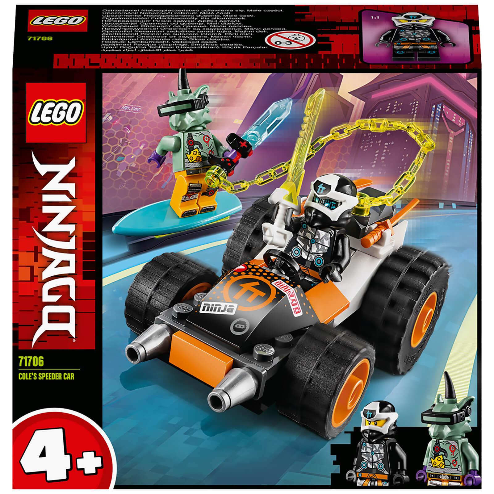 Image of 71706 LEGO® NINJAGO Coles Speeder