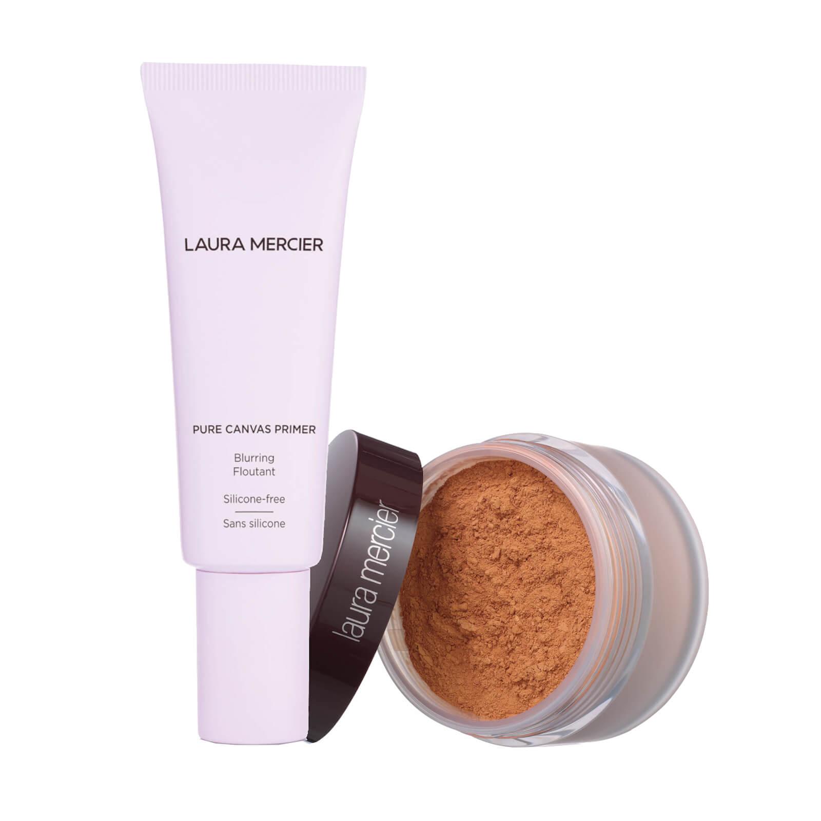 Laura Mercier Pure Canvas Primer- Blurring and Translucent Loose Setting Powder (Various Shades) - Medium Deep