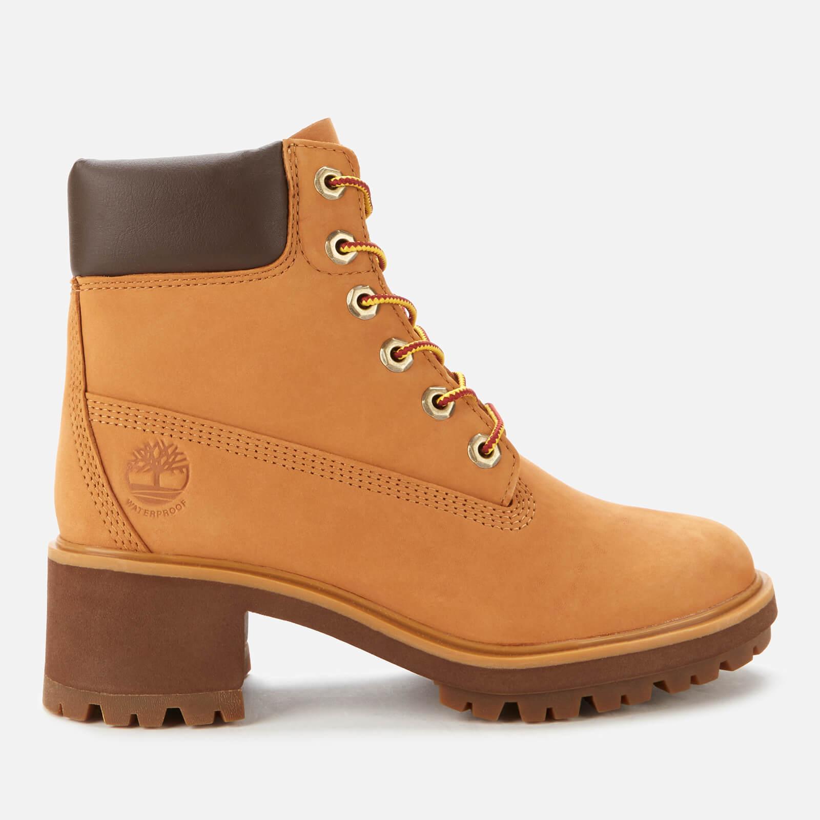 Timberland Women's Kinsley 6 Inch Waterproof Heeled Boots - Wheat - Uk 4