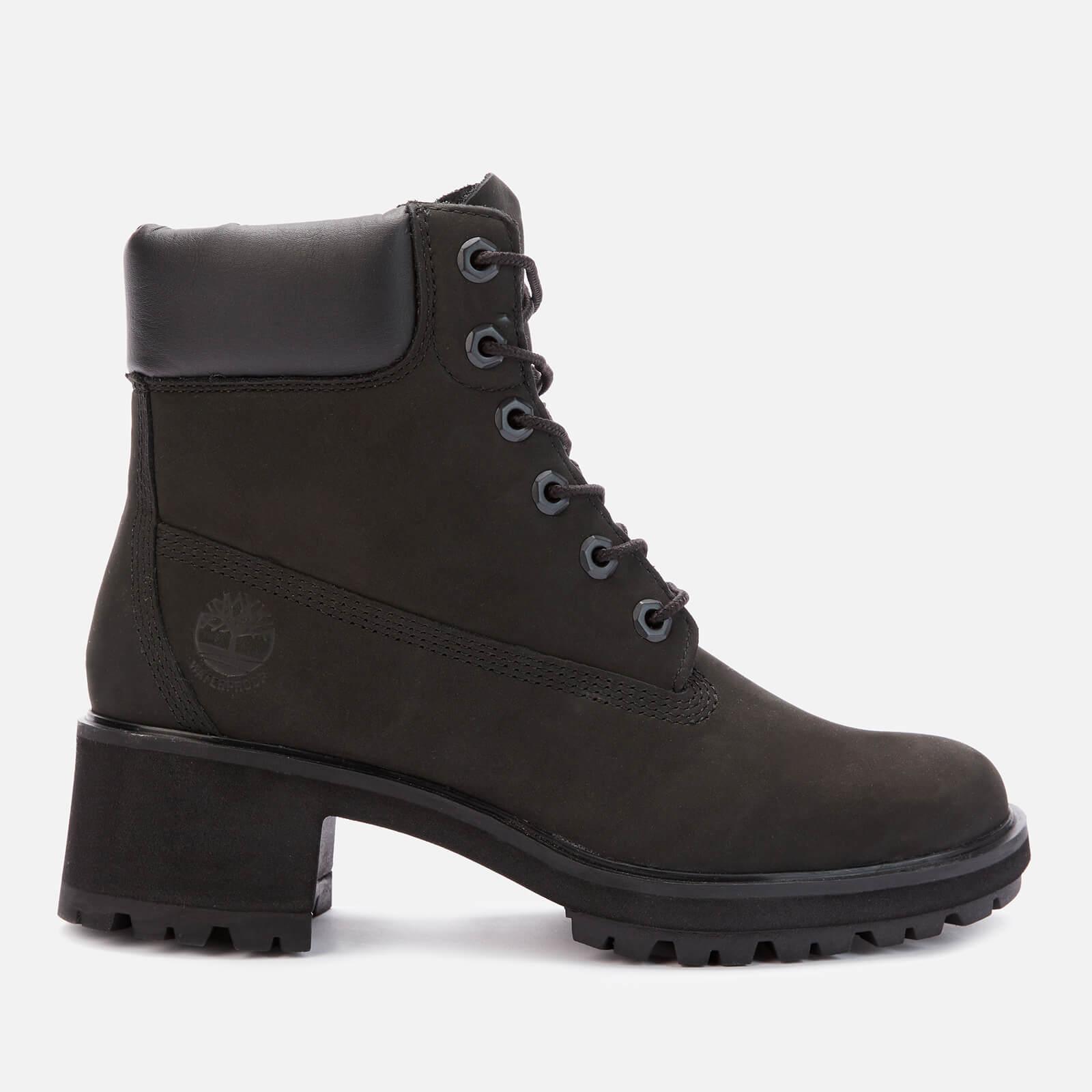 Timberland Women's Kinsley 6 Inch Waterproof Heeled Boots - Black - Uk 3.5