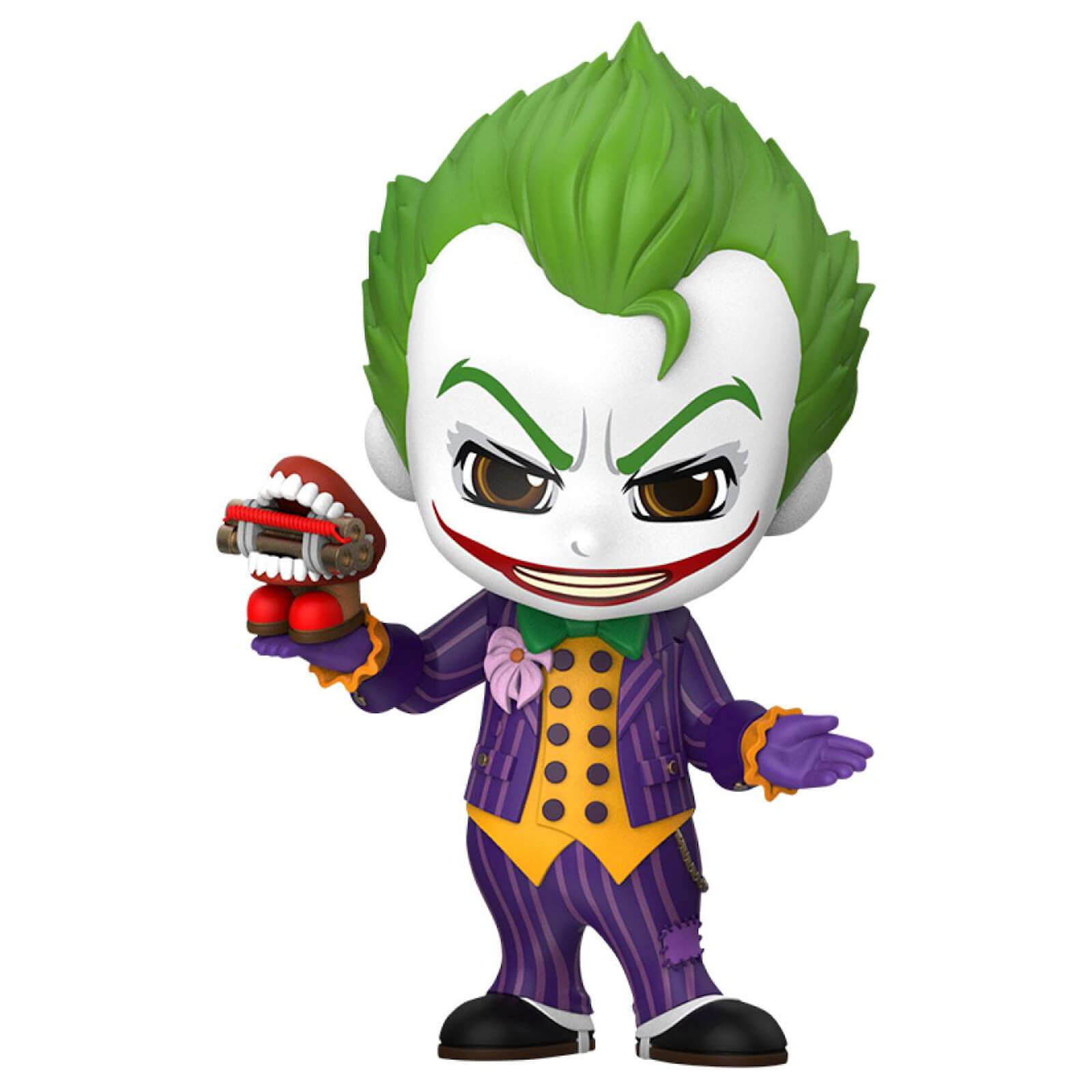Image of Hot Toys Batman: Arkham Knight Cosbaby Mini Figure Joker 12cm