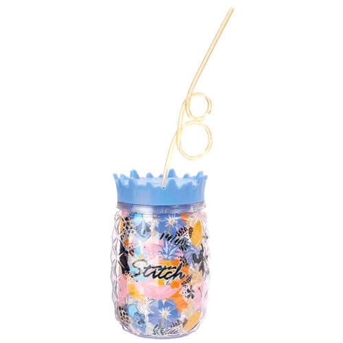 Image of Disney Lilo & Stitch Stitch Cup with Straw
