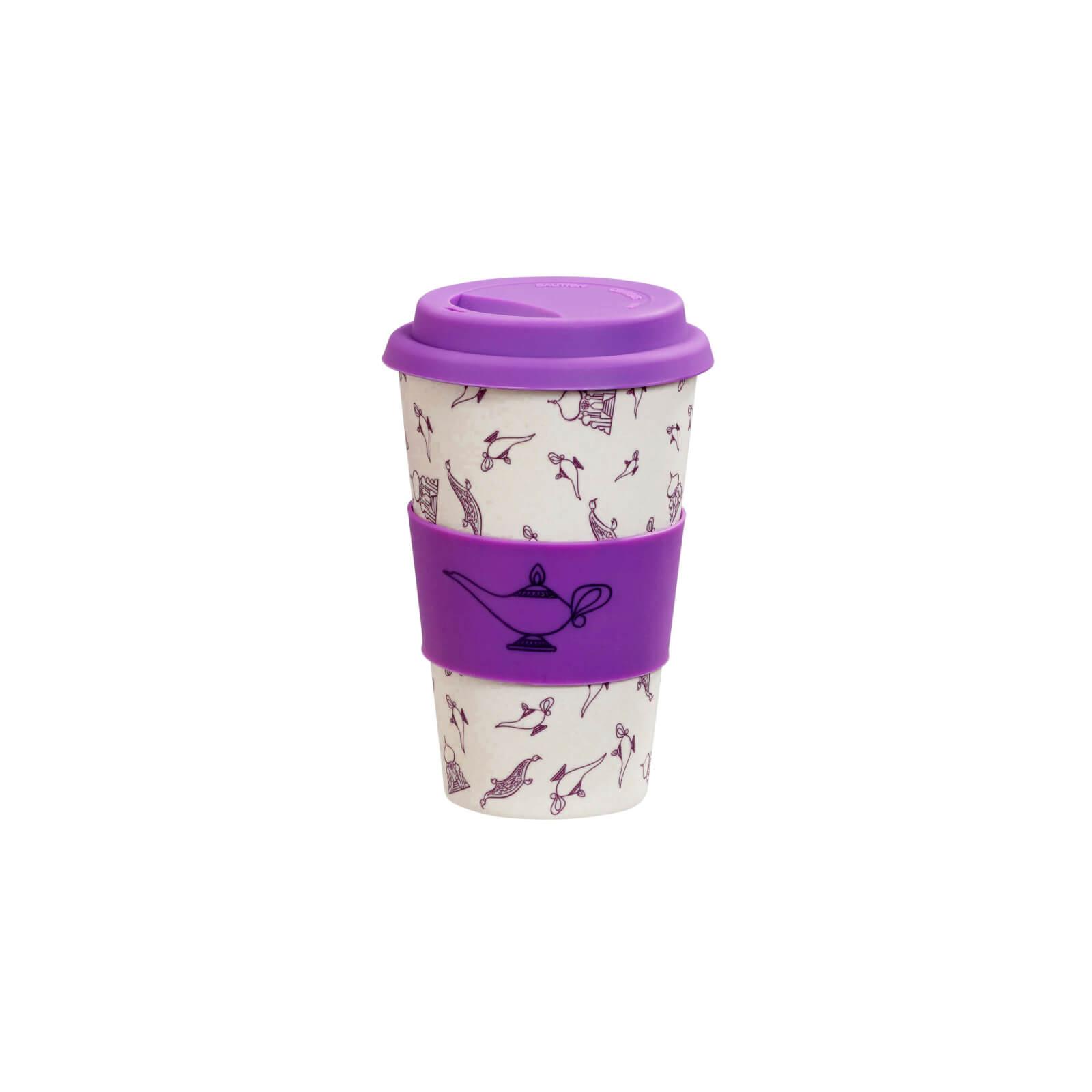 Image of Funko Homeware Disney Colour Block Bamboo Lidded Mug A Whole New World