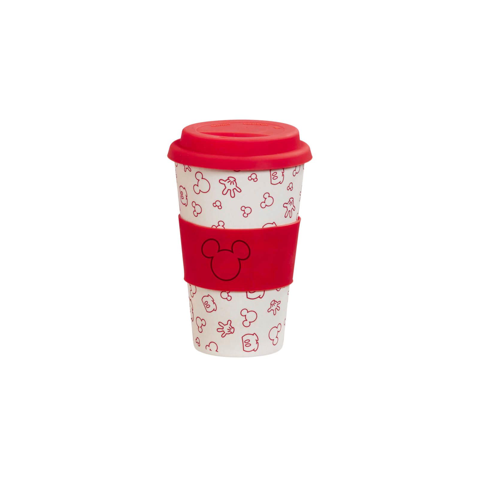 Image of Funko Homeware Disney Colour Block Oh Boy Bamboo Lidded Mug