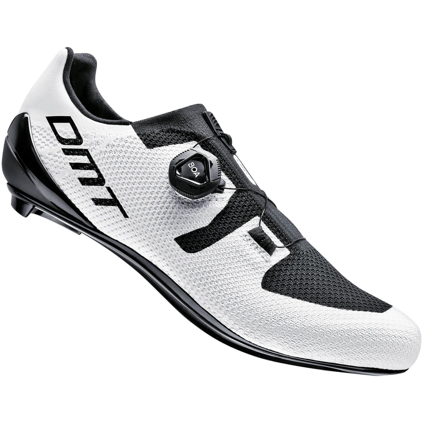 DMT KR3 Road Shoes - EU 42 - White/Black