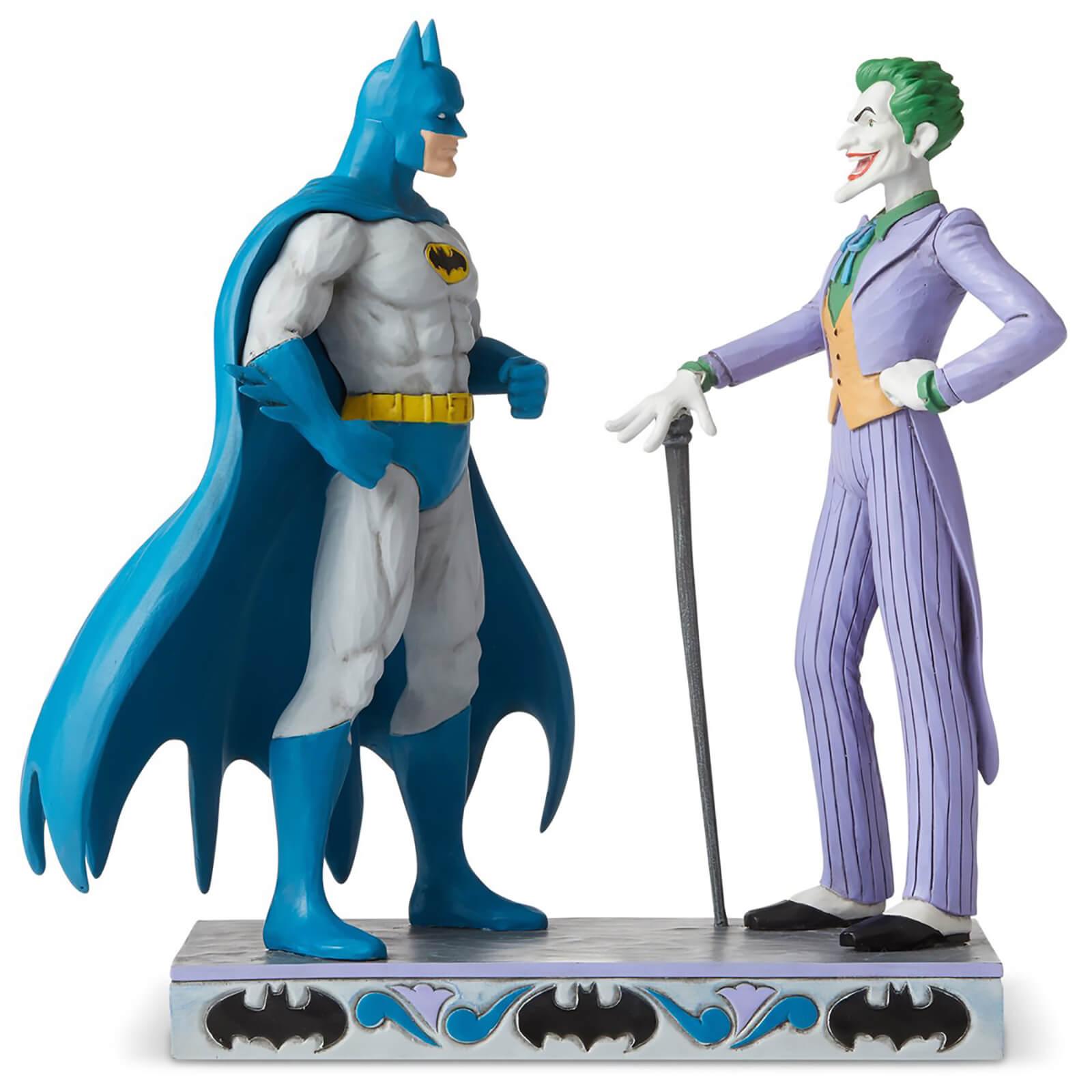 DC Comics by Jim Shore Batman� vs The Joker Figurine 21.5cm