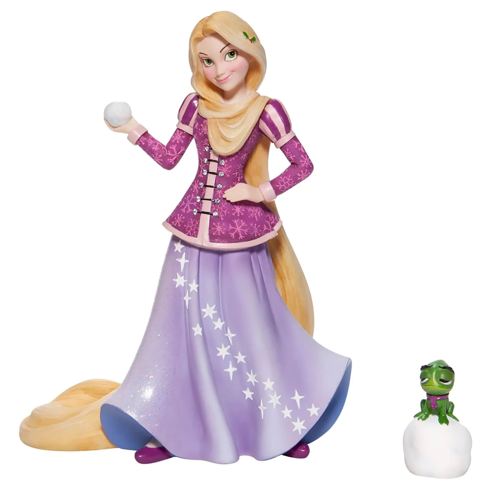 Image of Disney Showcase Collection Christmas Rapunzel Figurine 19cm
