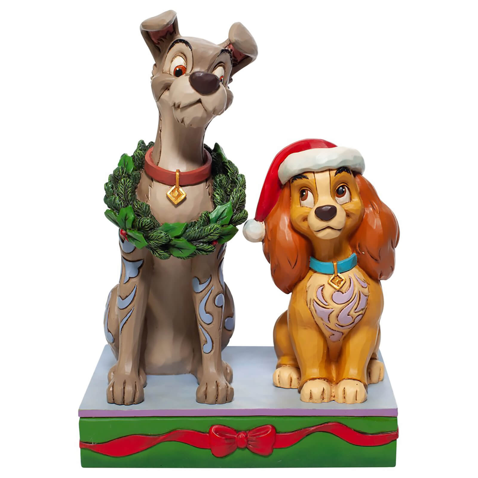 Image of Disney Traditions Lady and the Tramp Figurine 14cm
