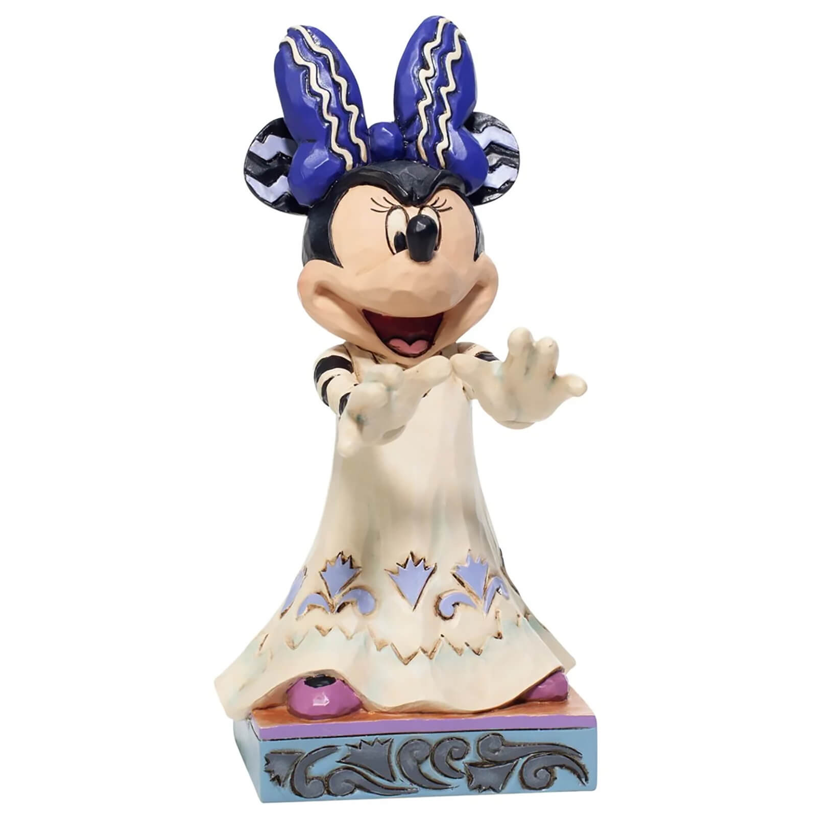 Image of Disney Traditions Halloween Minnie Mouse Figurine 13.5cm