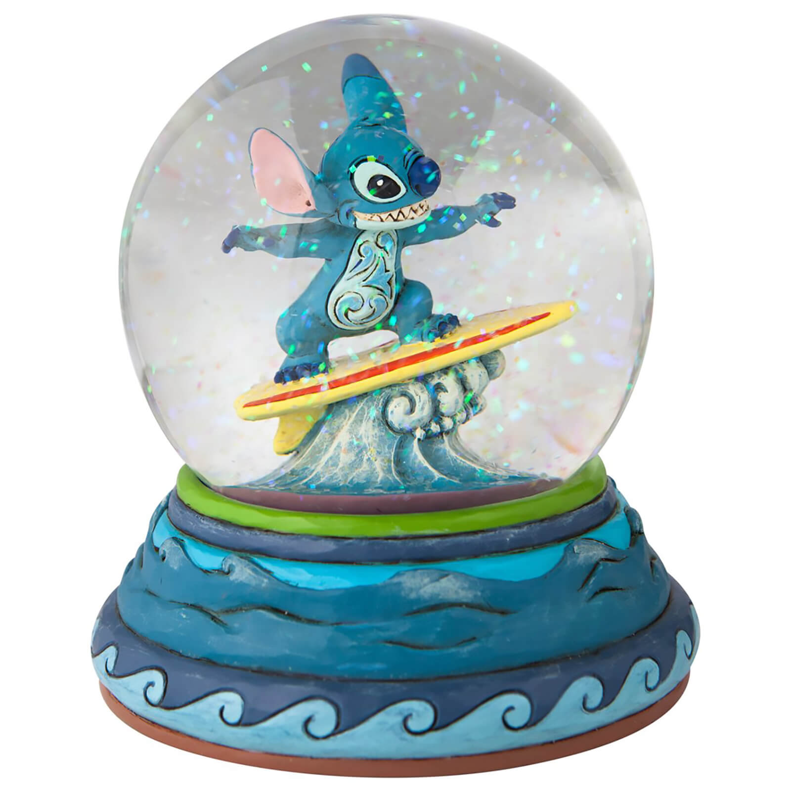 Image of Disney Traditions Stitch Waterball 14cm