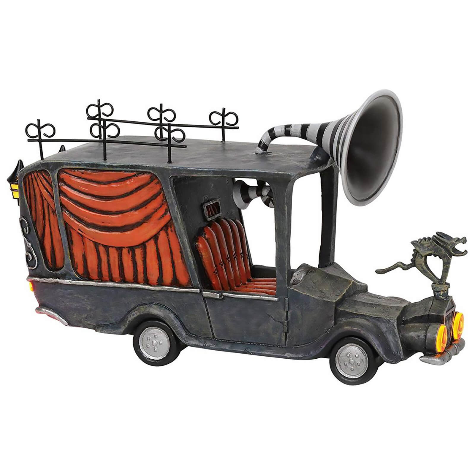 Image of The Nightmare Before Christmas Village The Mayor's Car 10.5cm