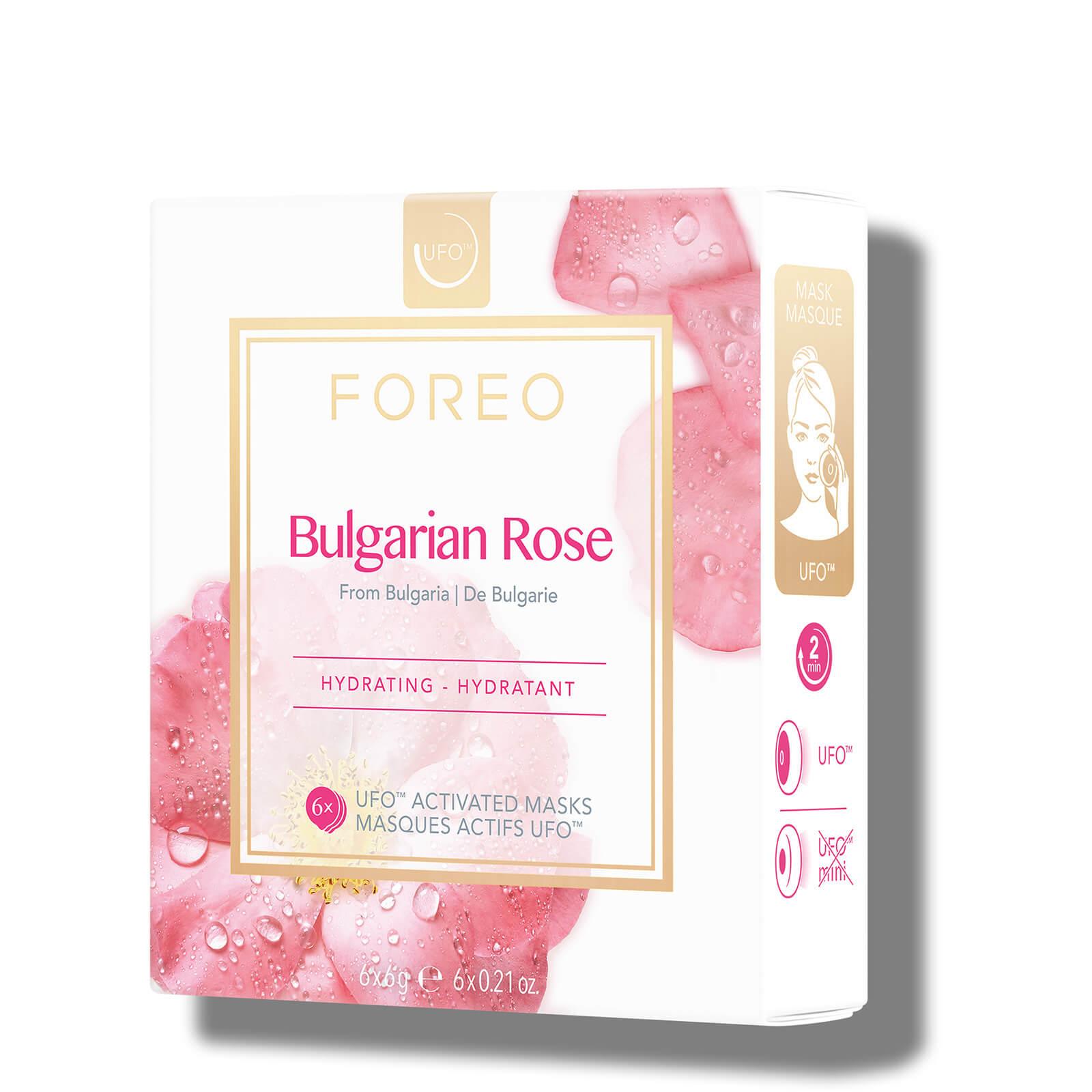FOREO UFO Bulgarian Rose Moisture-Boosting Face Mask (6 Pack)