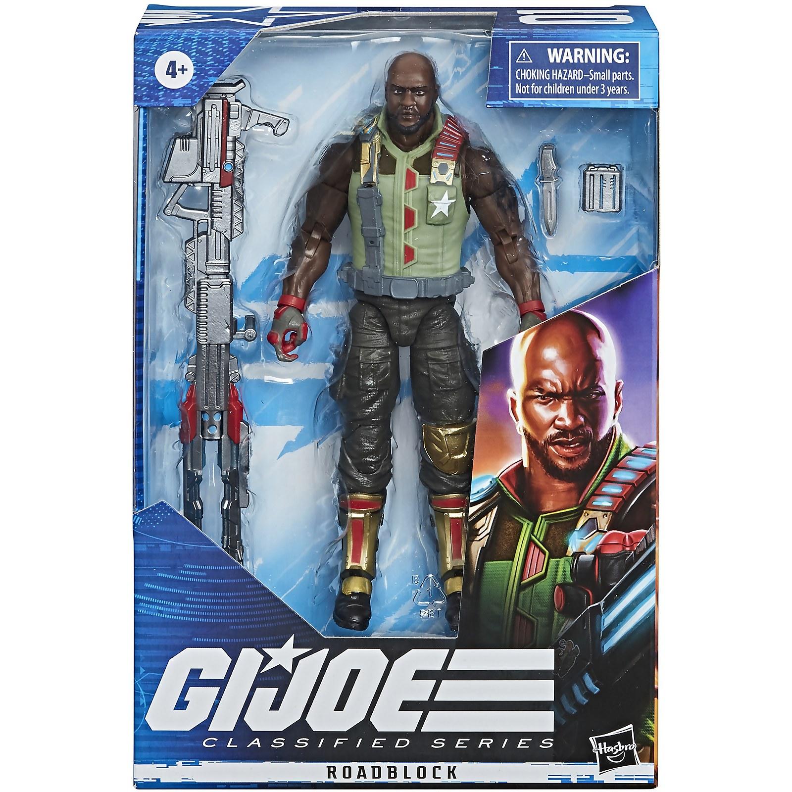 Image of Hasbro G.I. Joe Classified Series Roadblock 6-Inch Scale Action Figure 01
