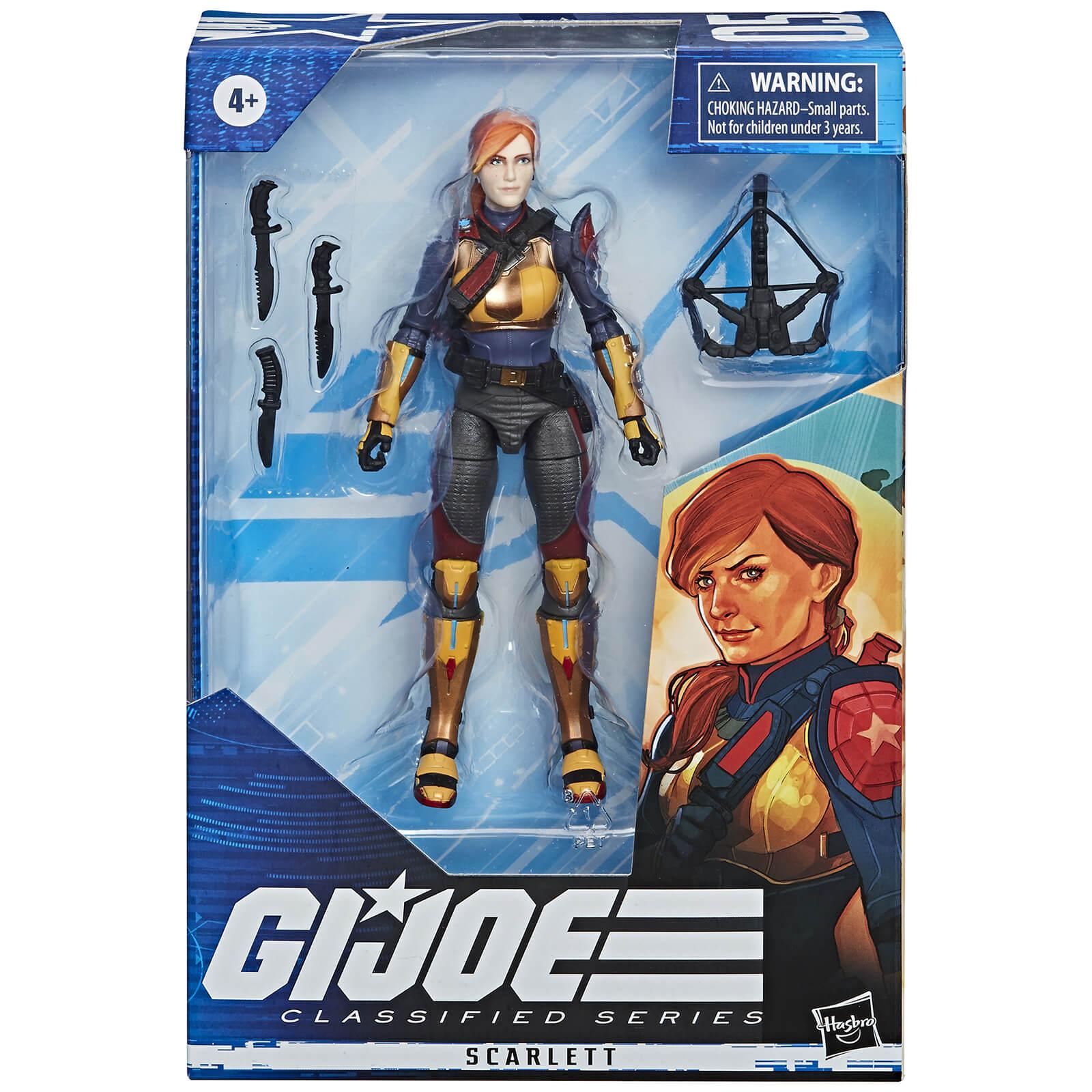Image of Hasbro G.I. Joe Classified Series Scarlett 6-Inch Scale Action Figure 05