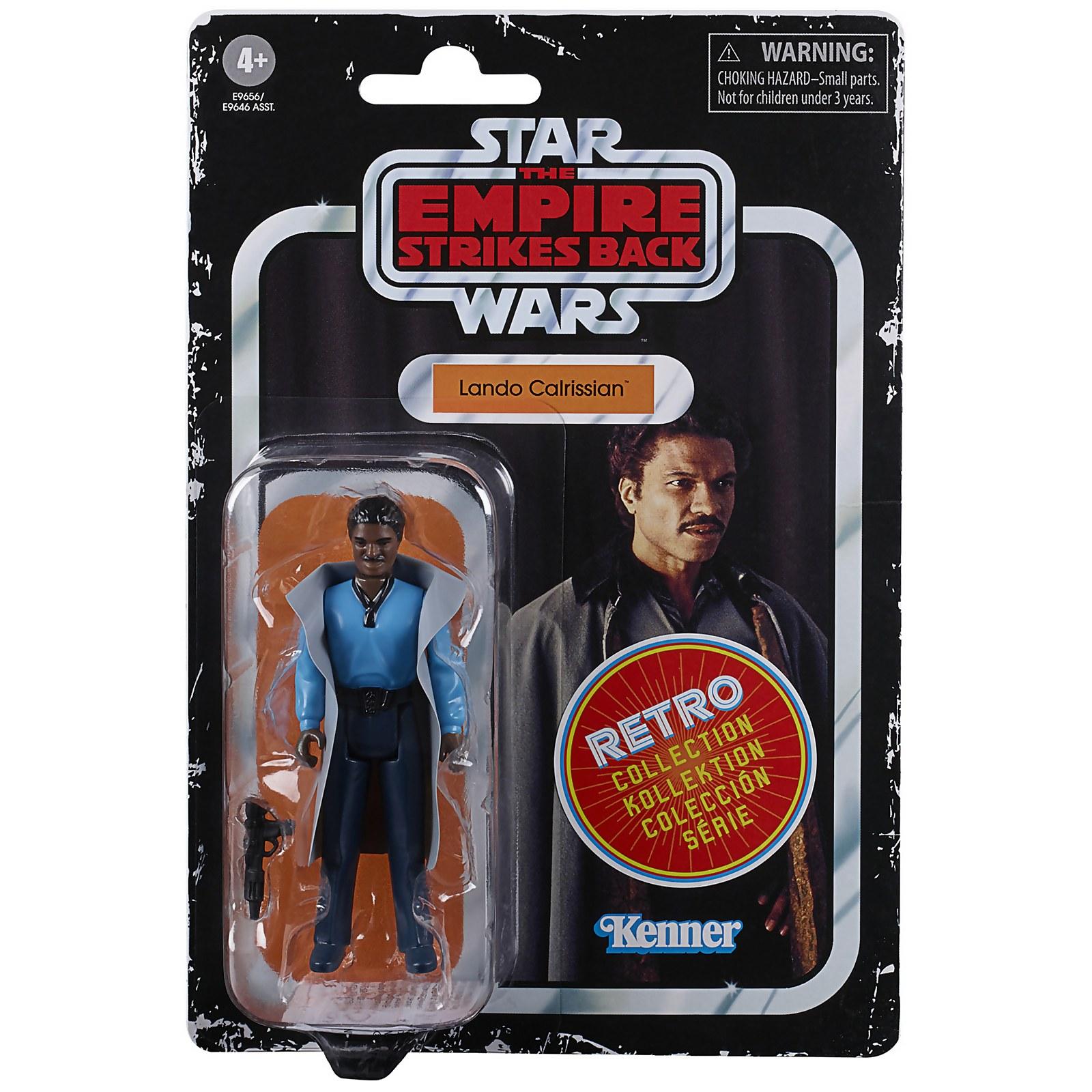 Image of Hasbro Star Wars Retro Collection Lando Calrissian Toy Action Figure