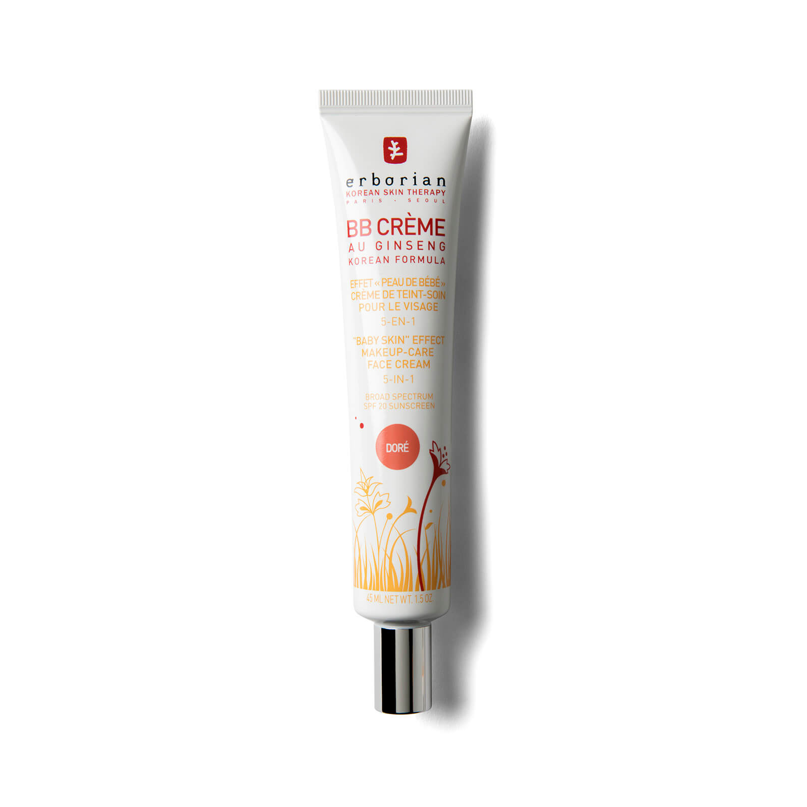 Erborian BB Cream 45ml (Various Shades) - Dore