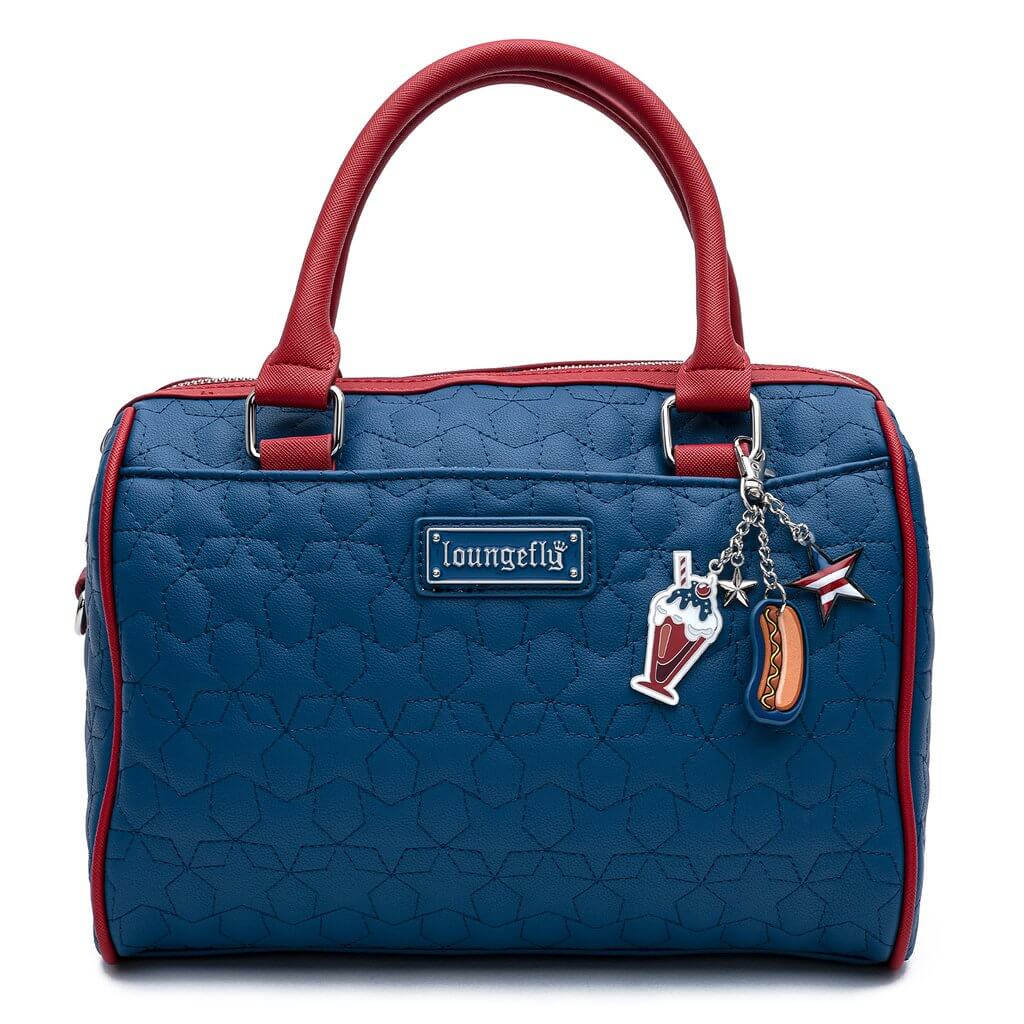 Image of Loungefly Americana Quilted Crossbody Bag