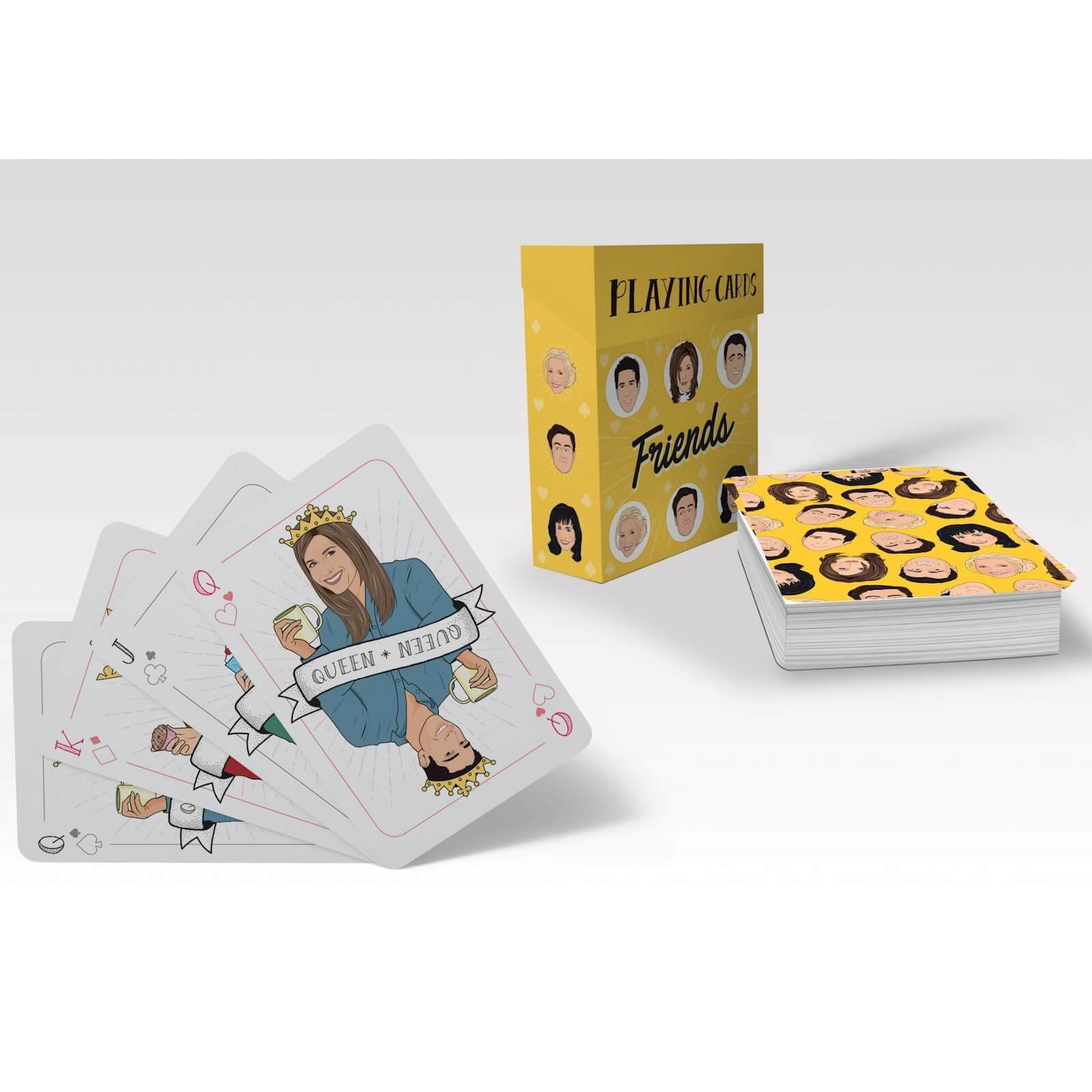 Image of Friends Playing Cards