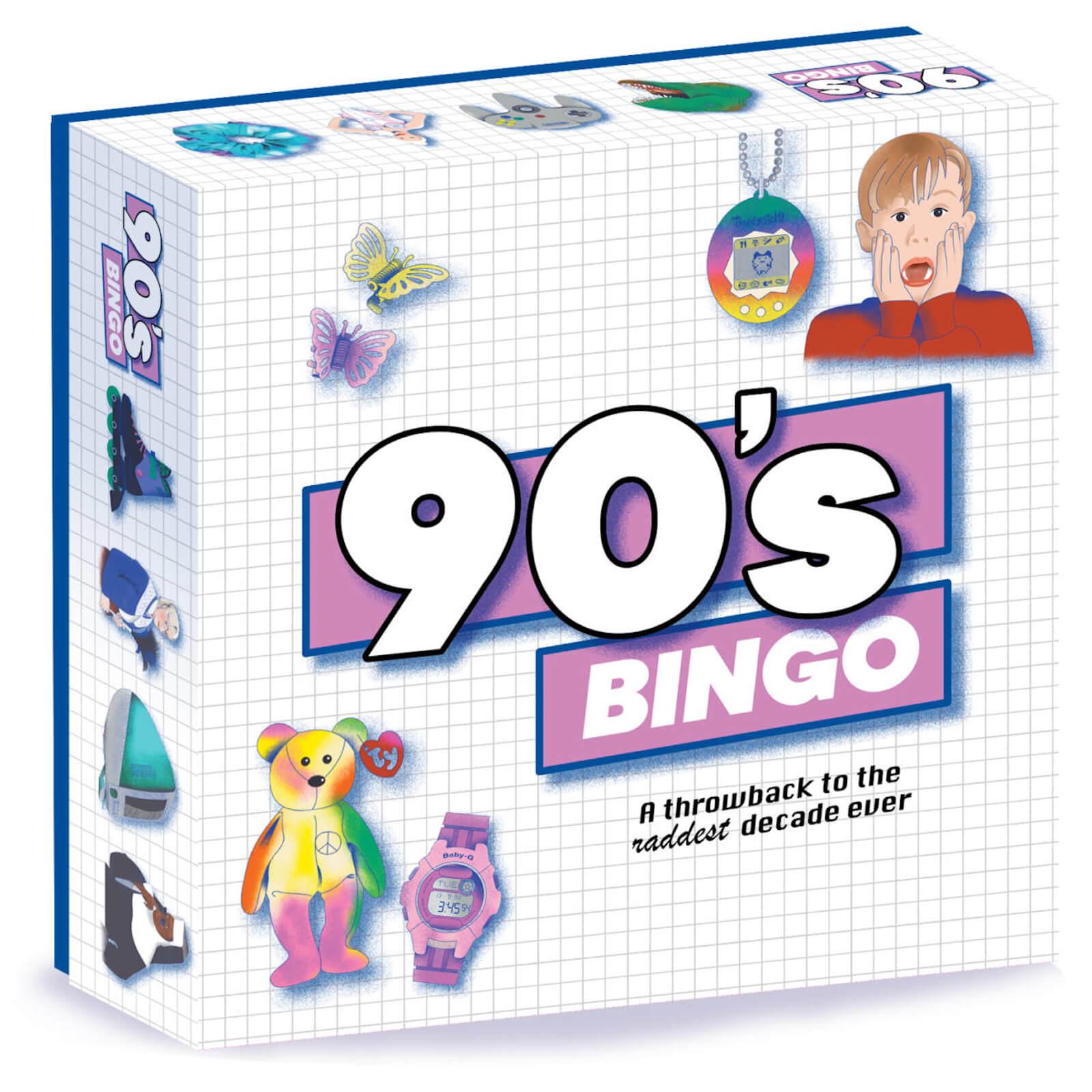 Image of 90's Bingo