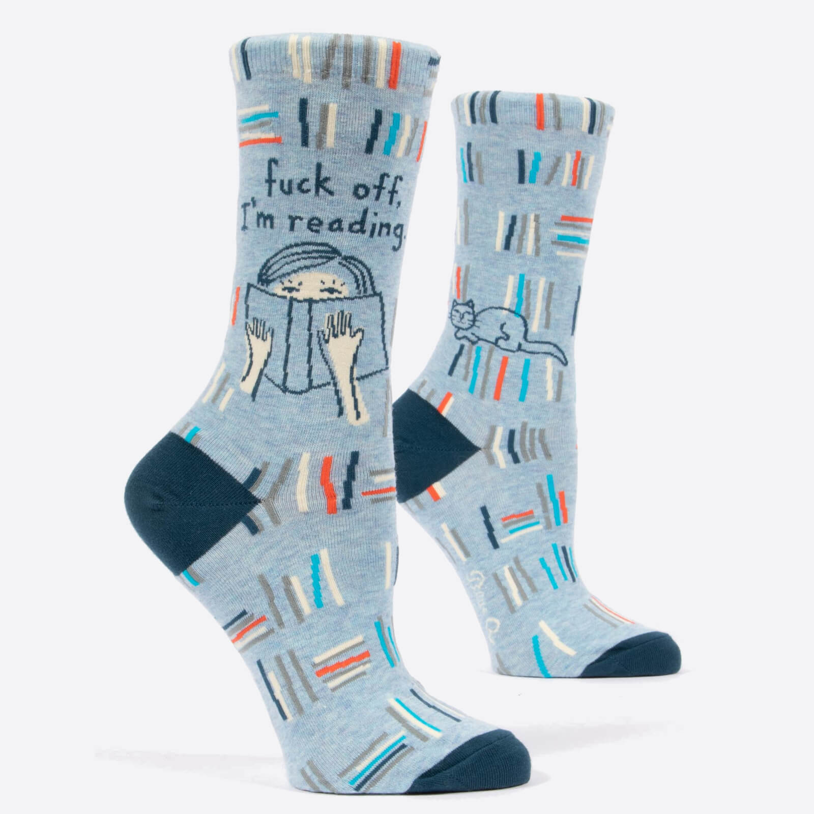 Image of F*ck Off, I'm Reading - Women's Socks