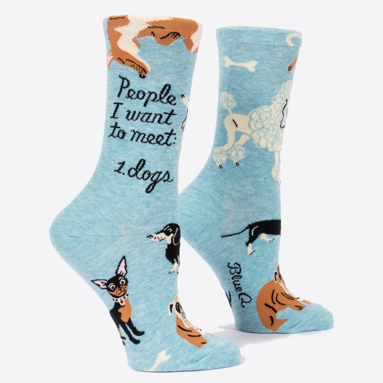 Image of People I Want to Meet: Dogs - Women's Socks