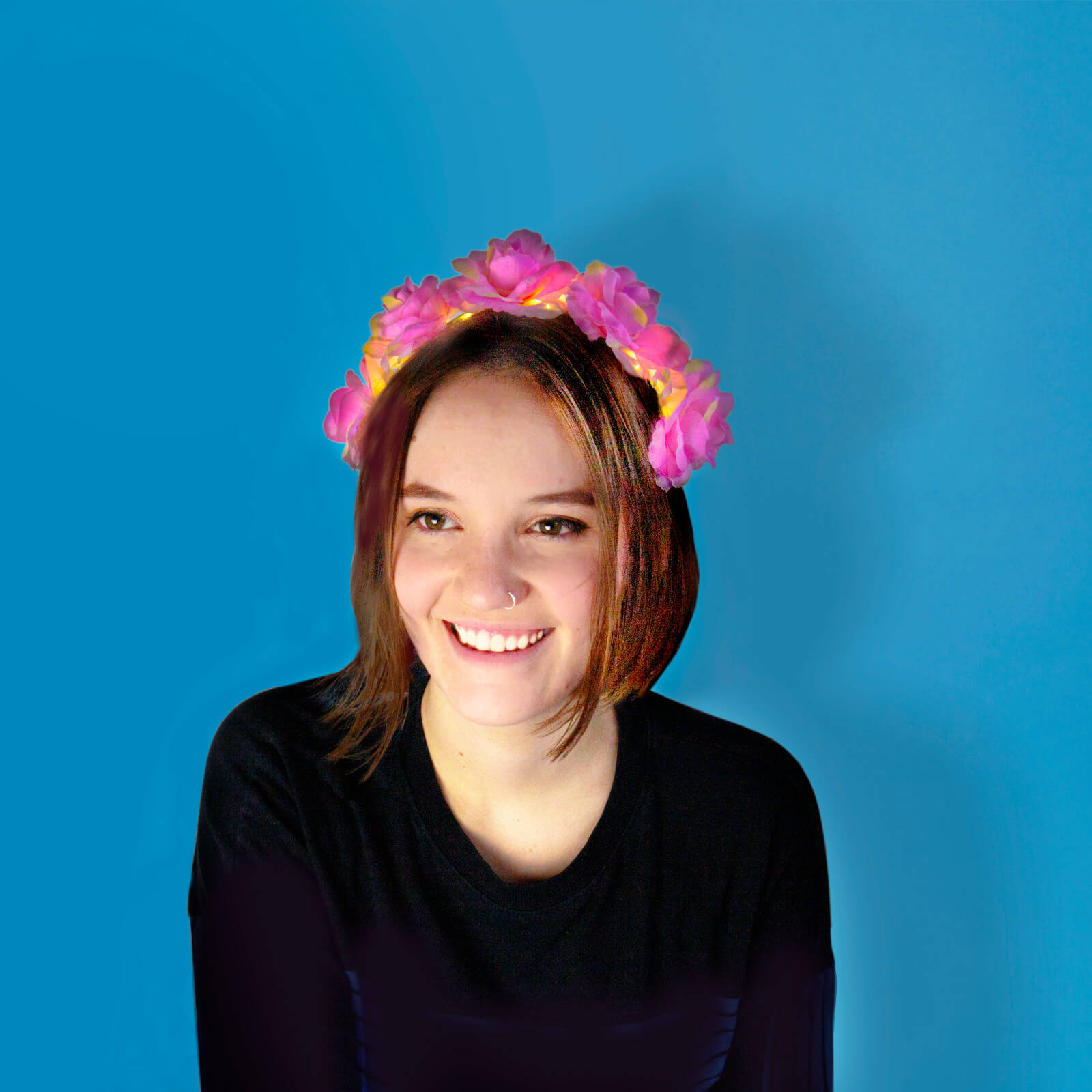 Image of Party Queen - Light Up Hair Flowers