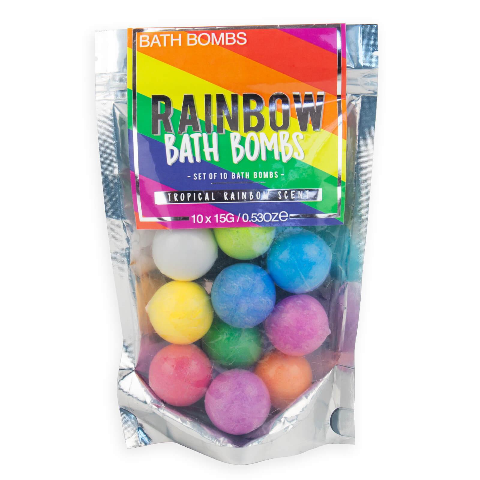 Image of Rainbow Bath Bombs