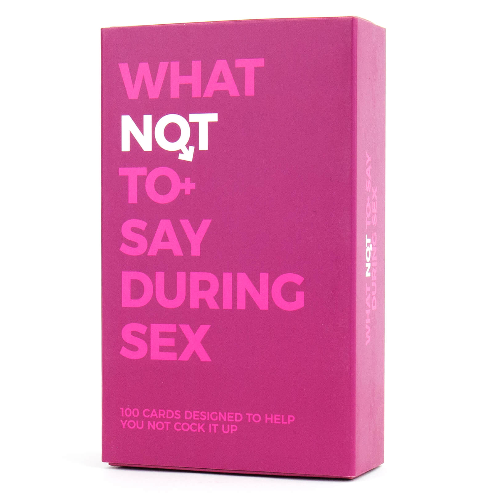 Image of What Not to Say During Sex Cards
