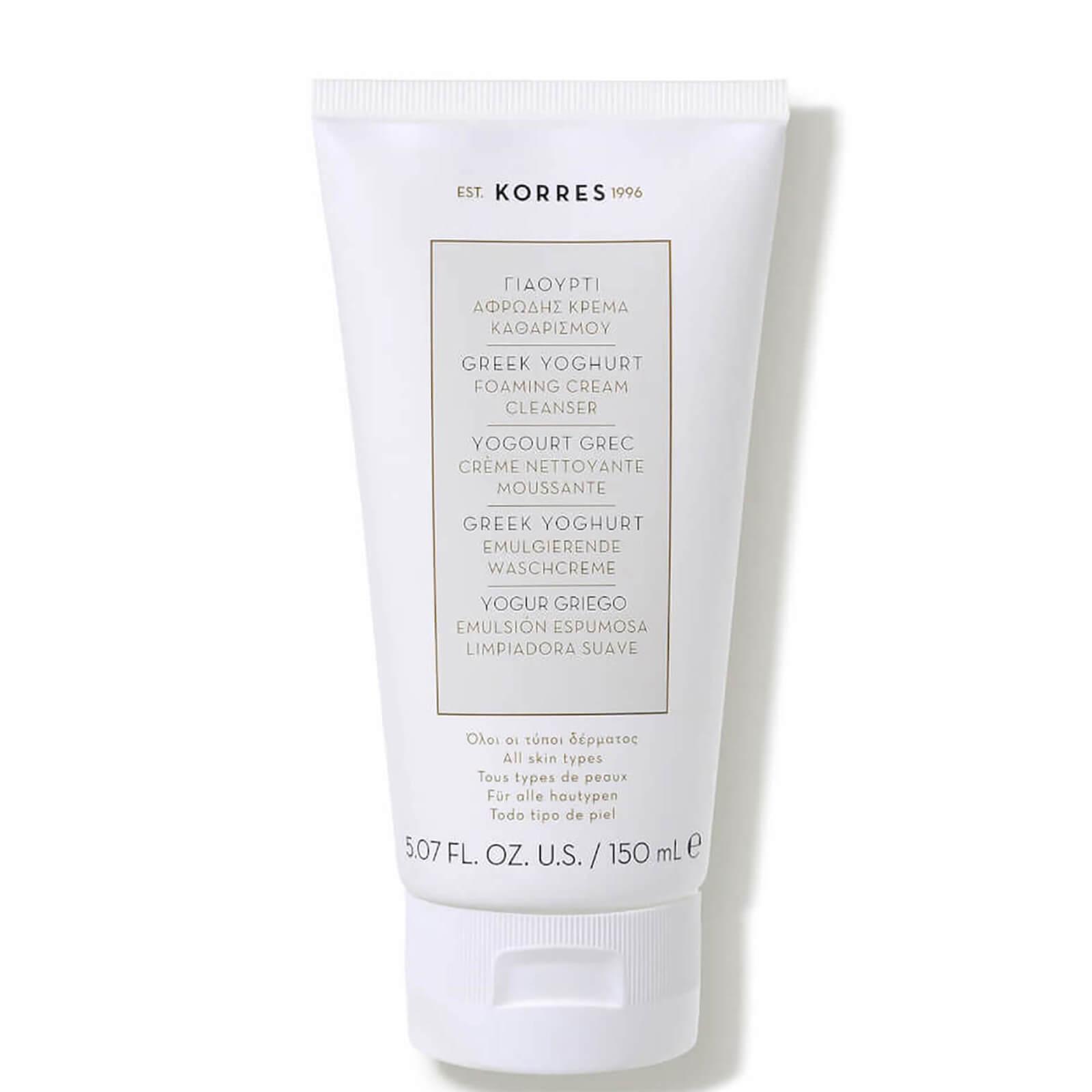 Купить KORRES Greek Yoghurt Foaming Cream Cleanser 150ml