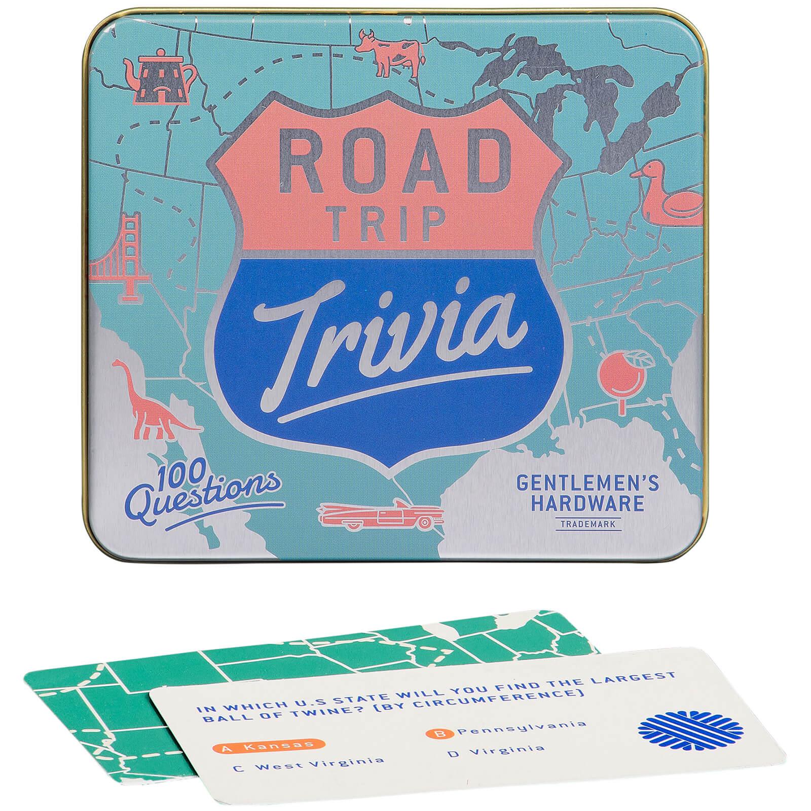 Image of Gentlemen's Hardware Road Trip Trivia Cards
