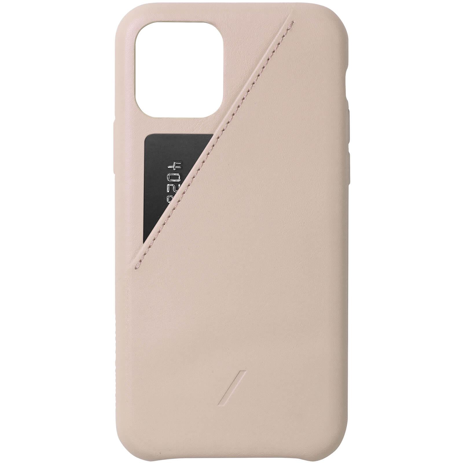 Native Union Clic Card iPhone Case - Nude - iPhone 11 Pro