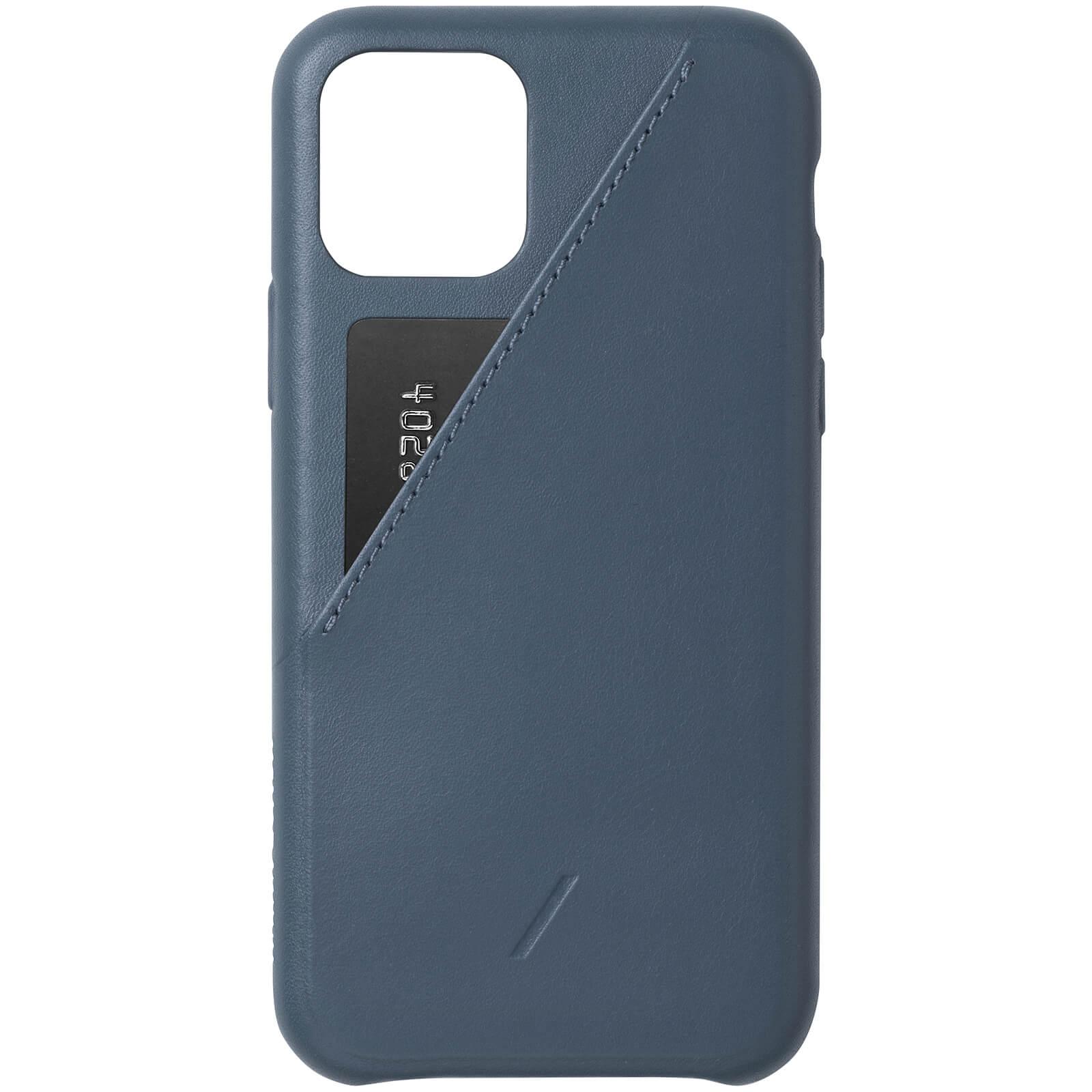 Native Union Clic Card iPhone Case - Navy - iPhone 11 Pro