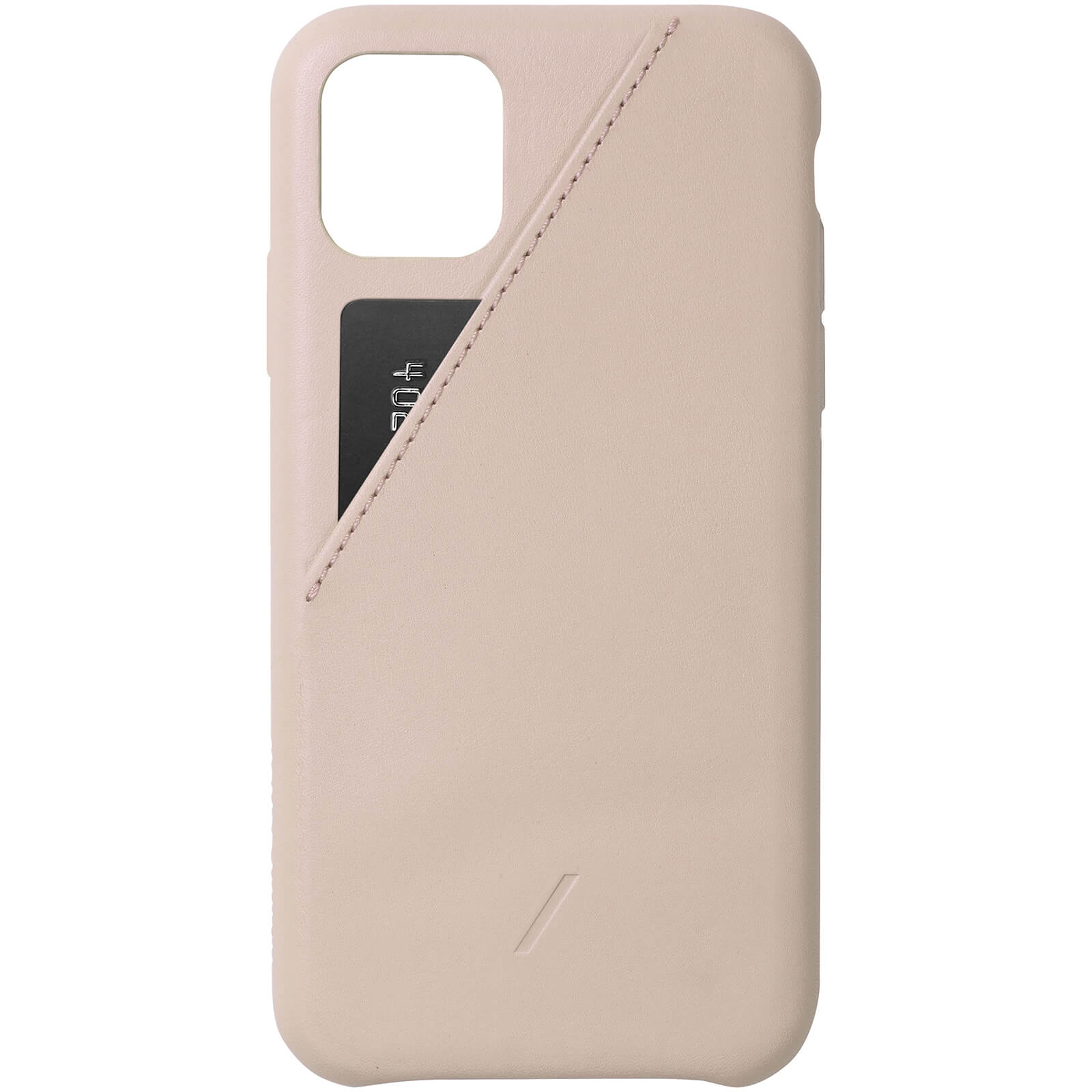 Native Union Clic Card iPhone Case - Nude - iPhone 11 Pro Max