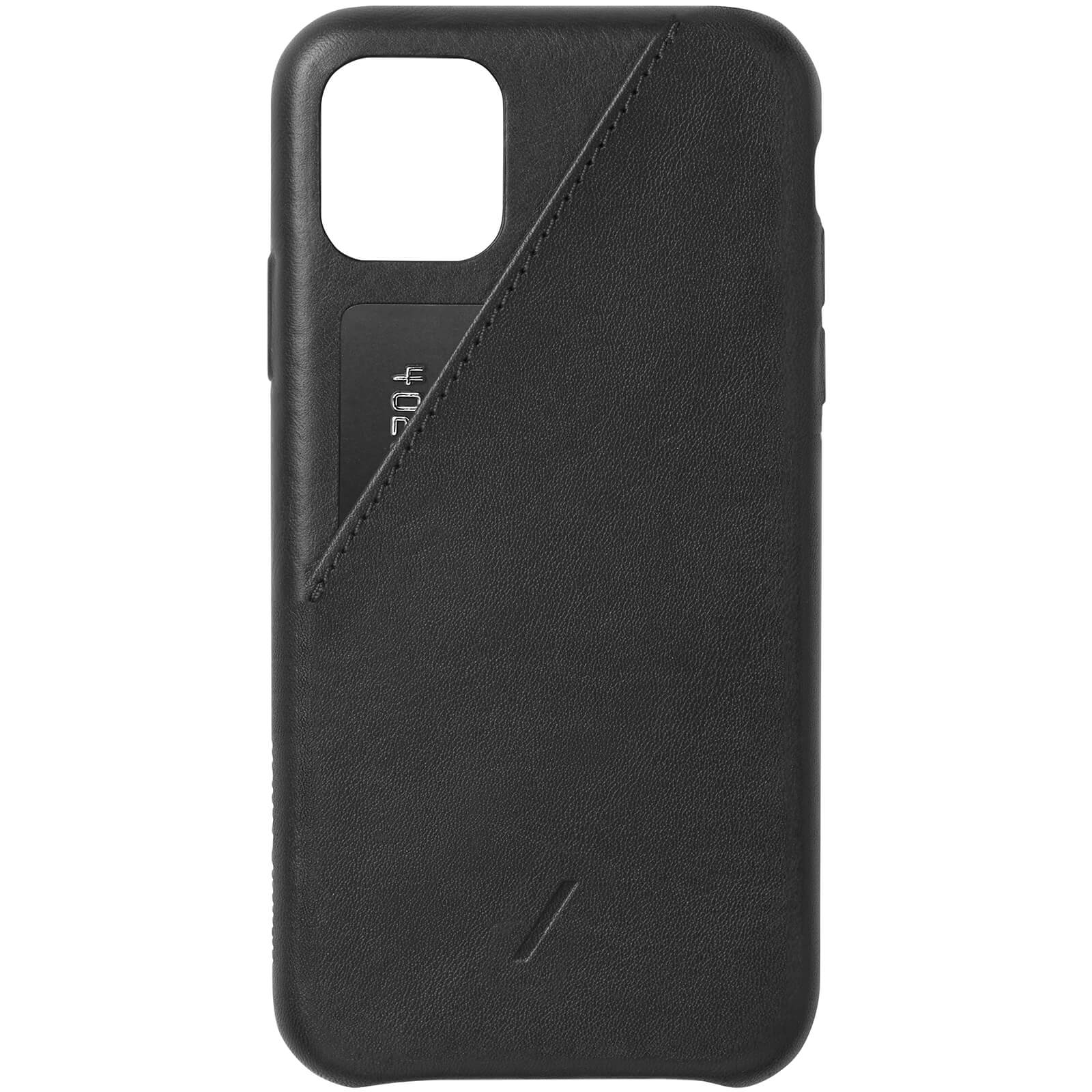 Native Union Clic Card iPhone Case - Black - iPhone 11