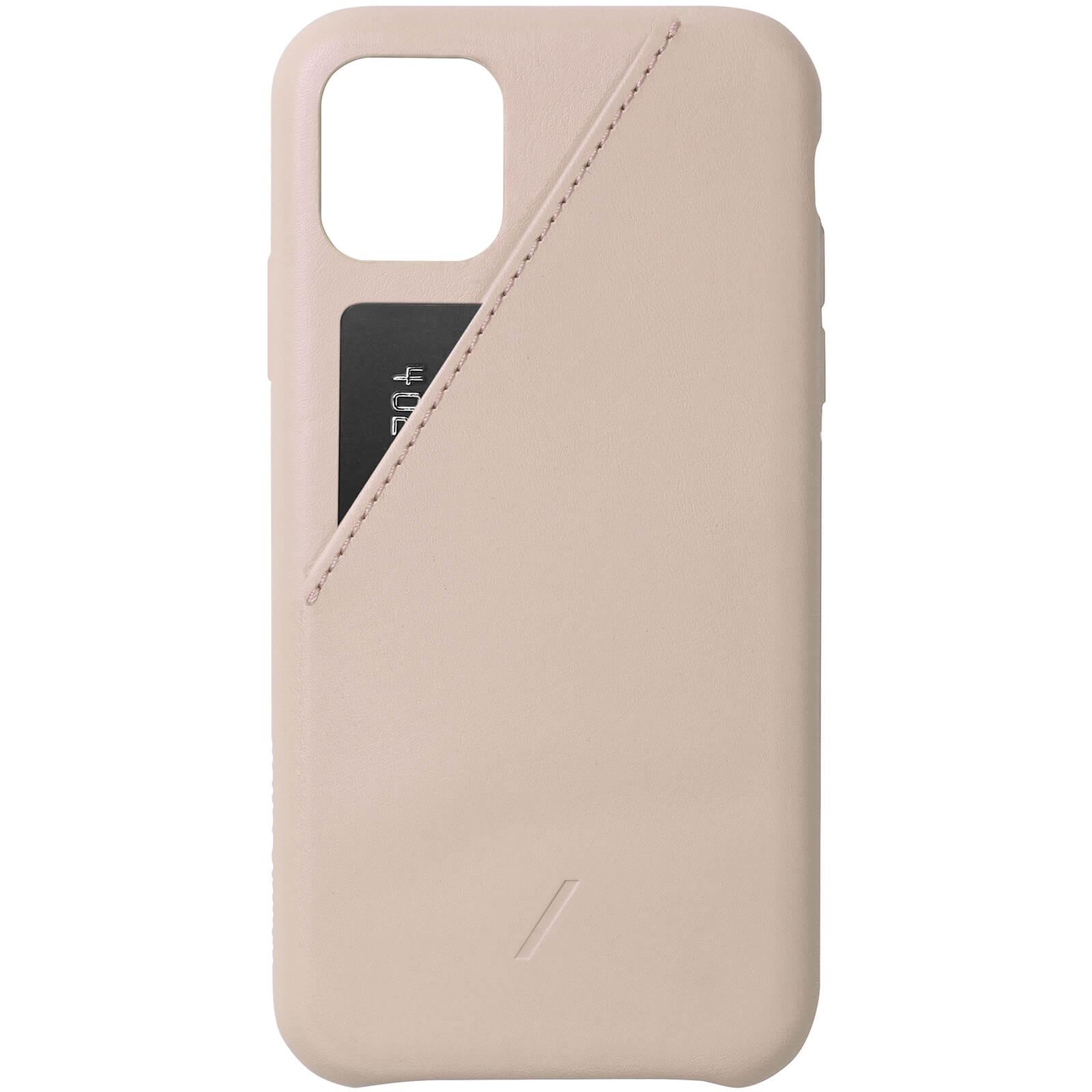 Native Union Clic Card iPhone Case - Nude - iPhone 11